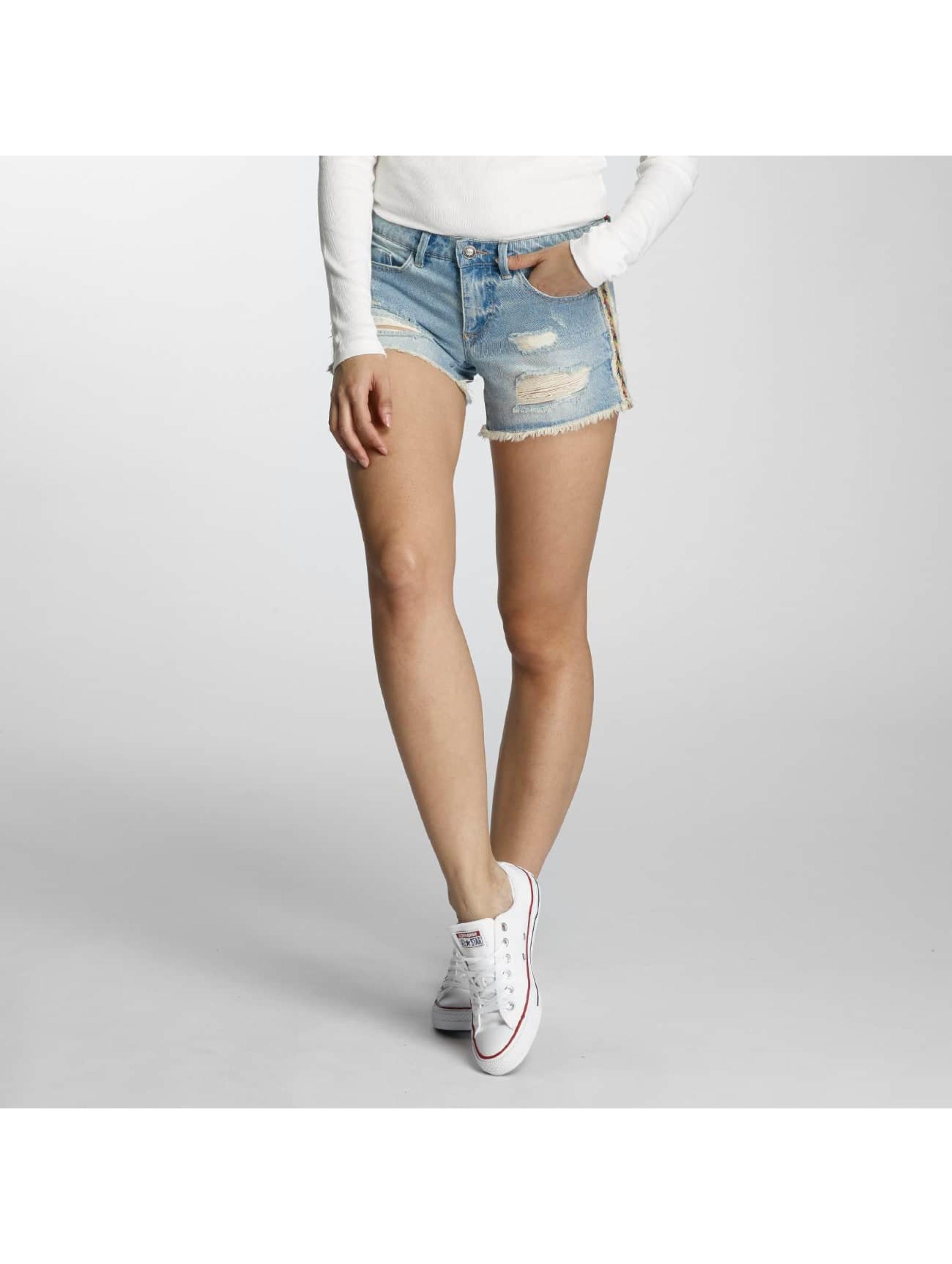 Only Frauen Shorts onlCarrie in blau