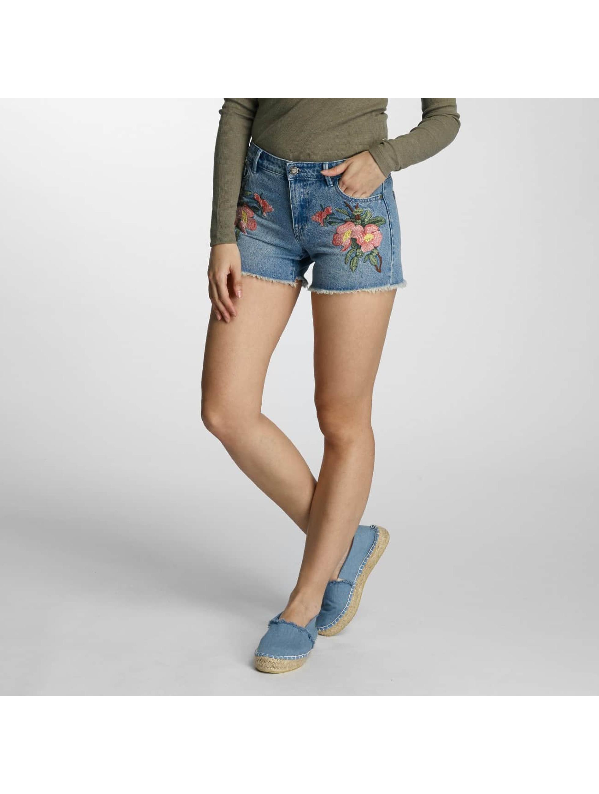 Only Frauen Shorts onlCarmen in blau