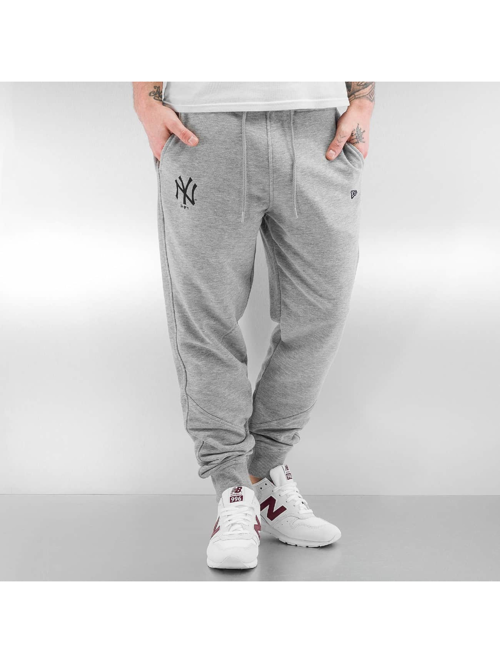 New Era Männer Jogginghose Team Apparel French Terry NY Yankees in grau