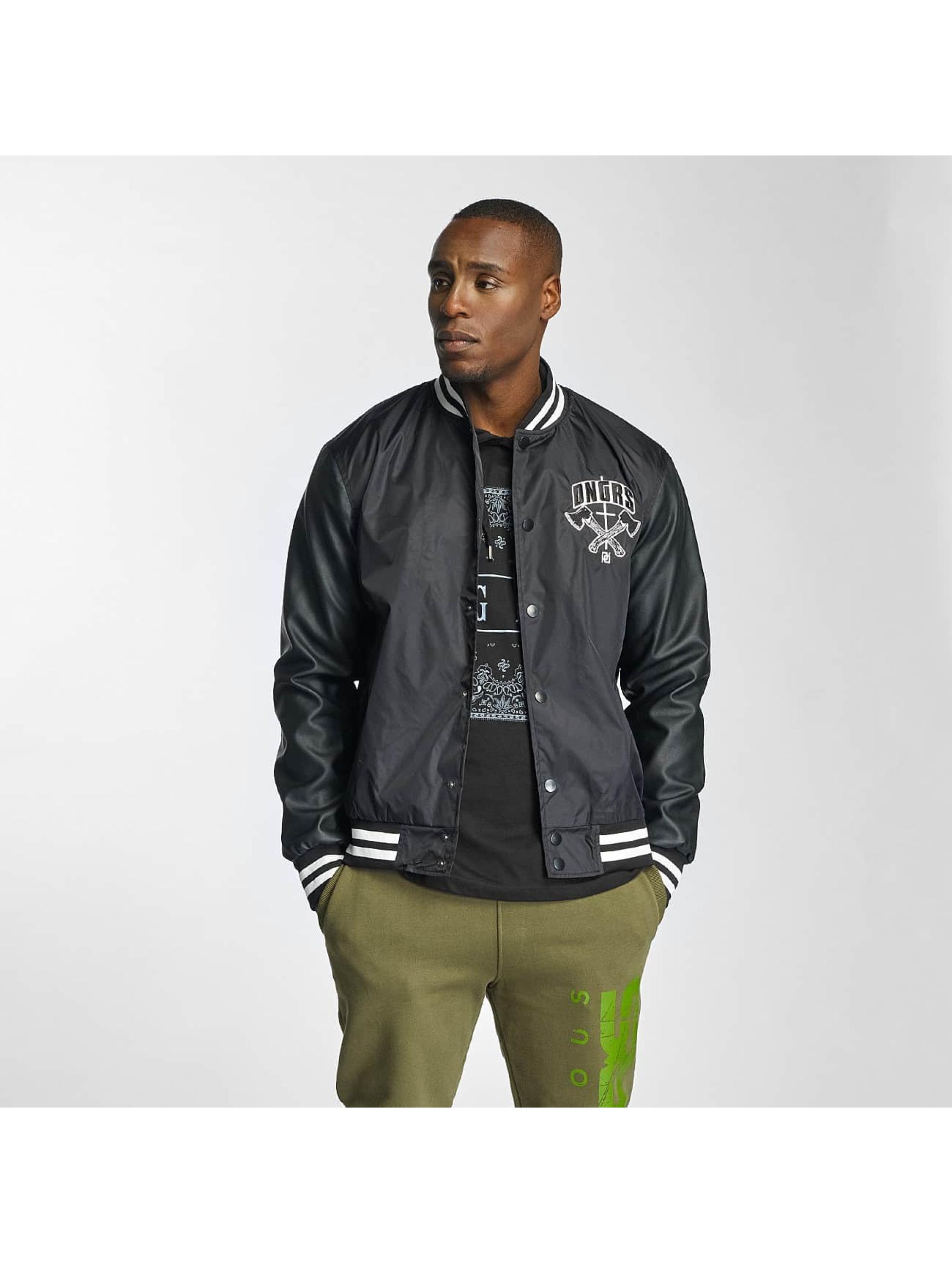 Dangerous DNGRS / College Jacket Peace out in black XL
