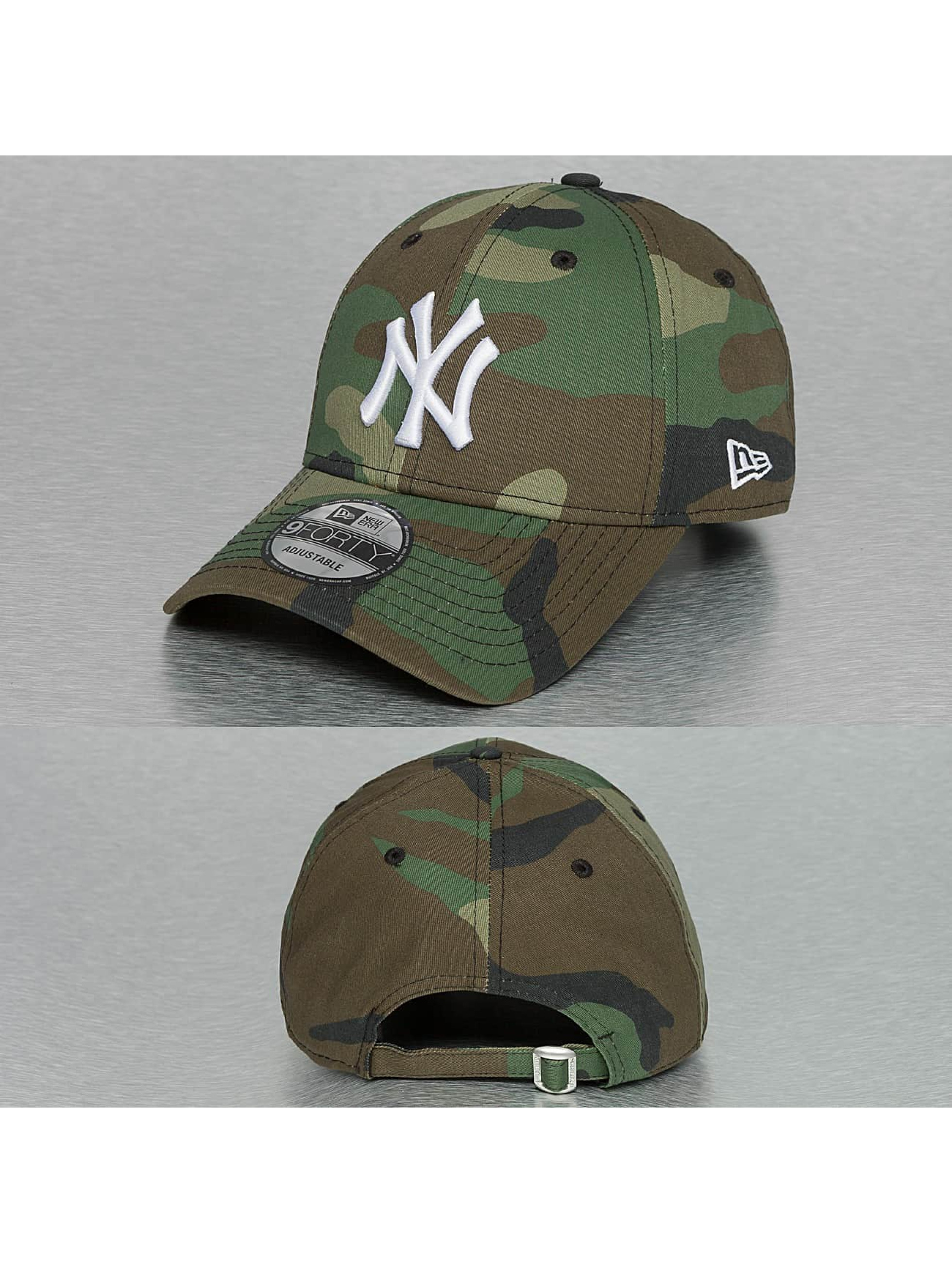 New Era MLB League Essential NY Yankees 9Forty Snapback Cap Woodland Camo