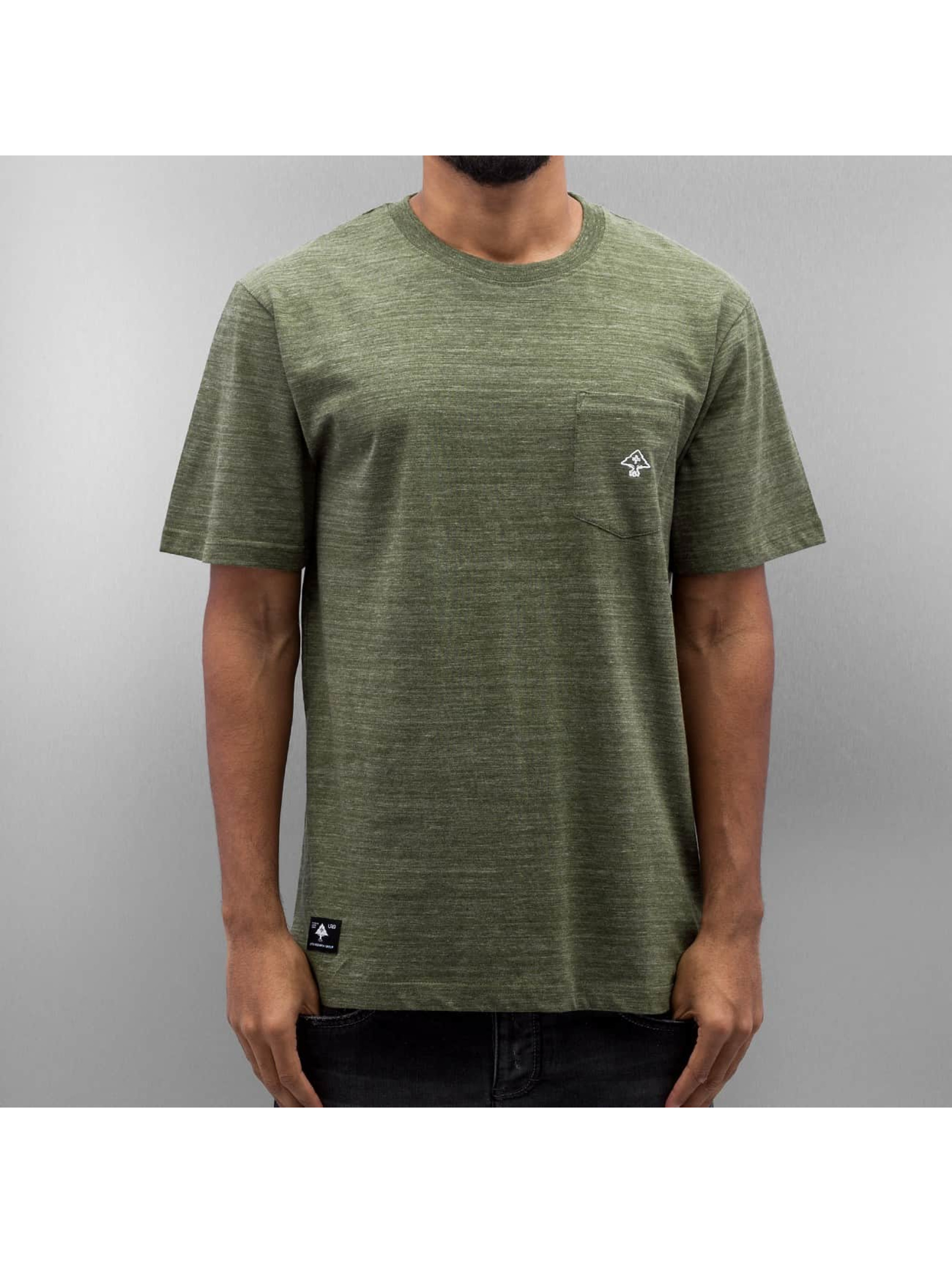 LRG Männer T-Shirt All Natural SS Knit in olive