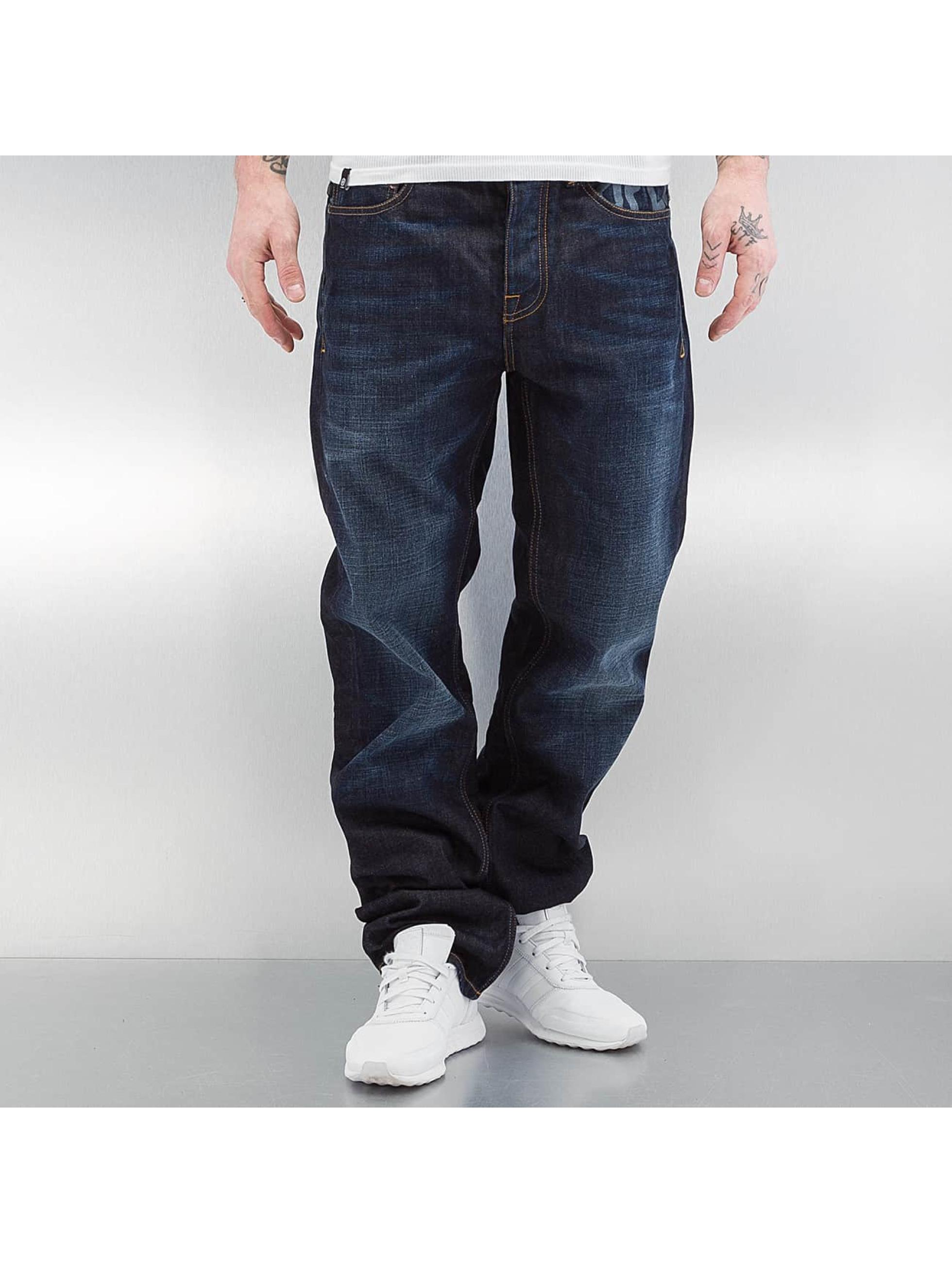 Pelle Pelle Männer Loose Fit Jeans Classic Arch in blau