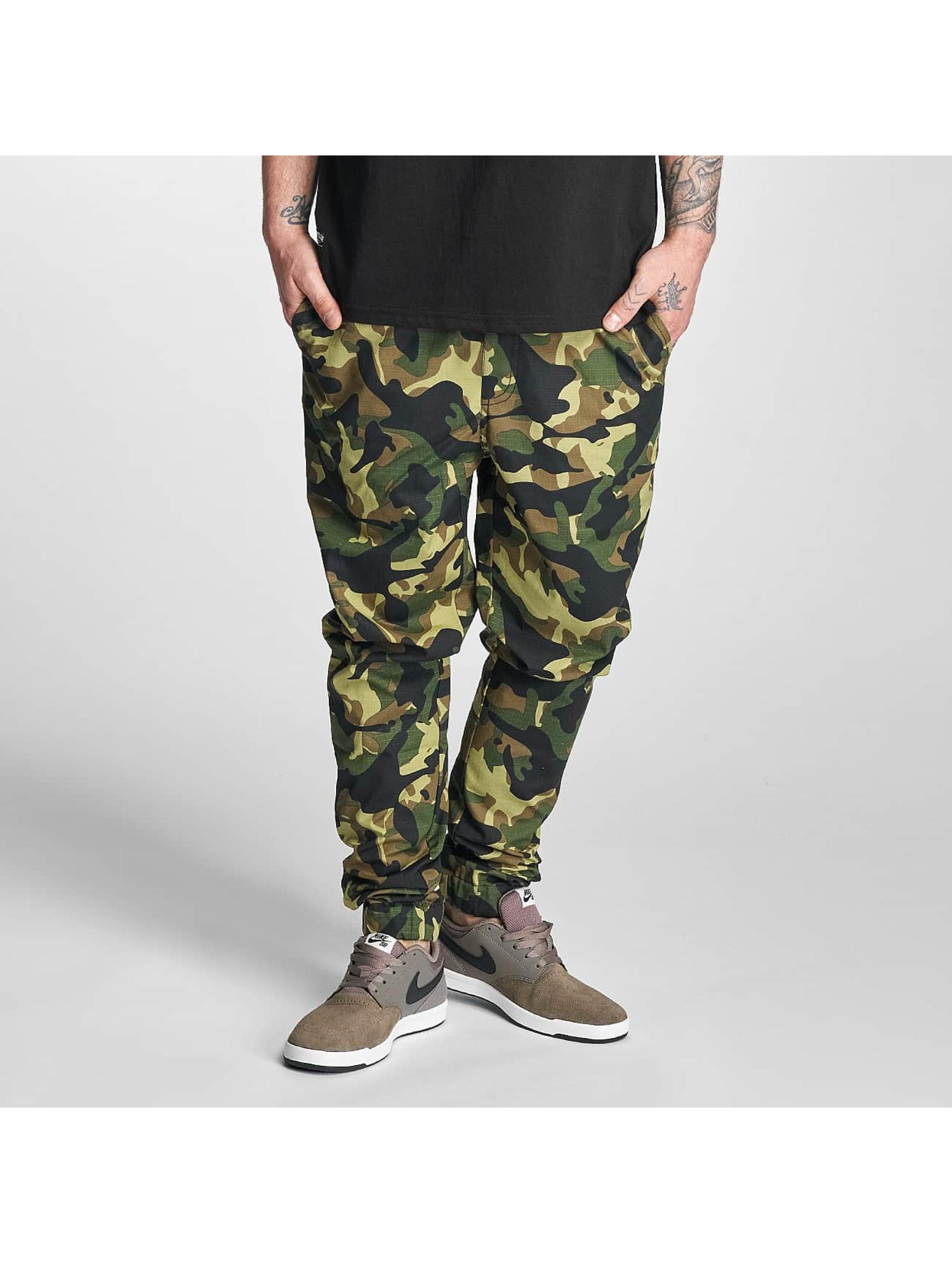 Pelle Pelle Männer Jogginghose Ribstop in camouflage