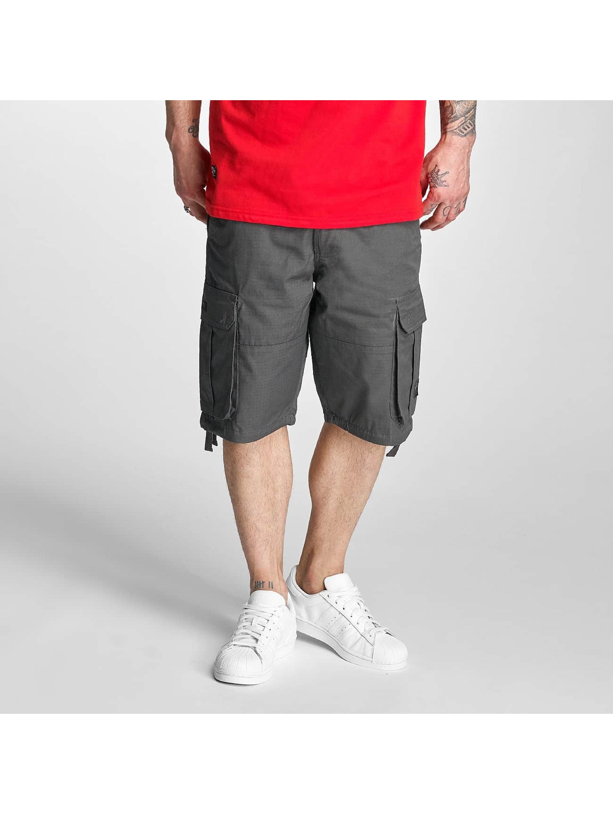 Pelle Pelle Männer Shorts Basic Cargo in grau