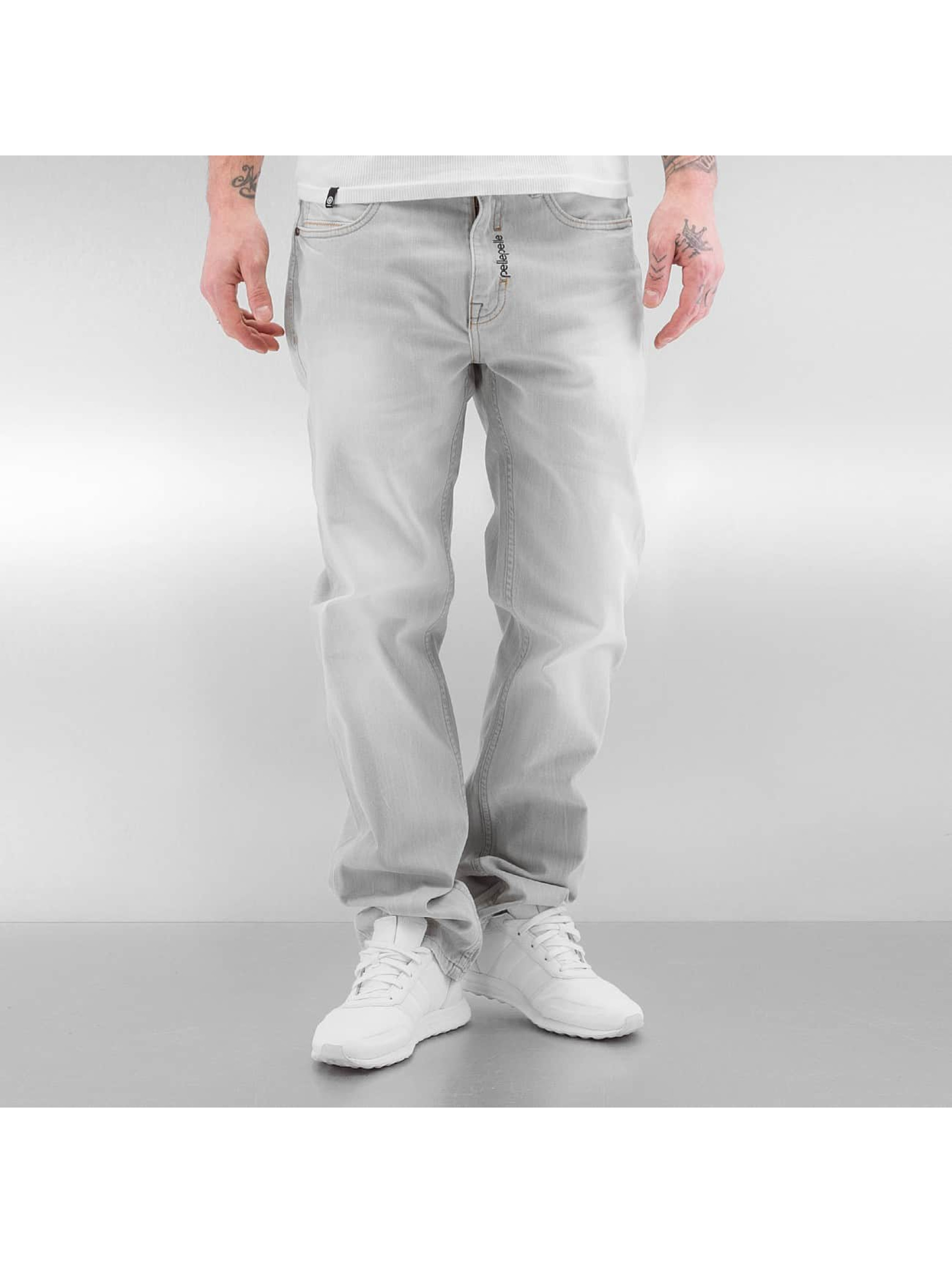 Pelle Pelle Männer Loose Fit Jeans Baxter in grau