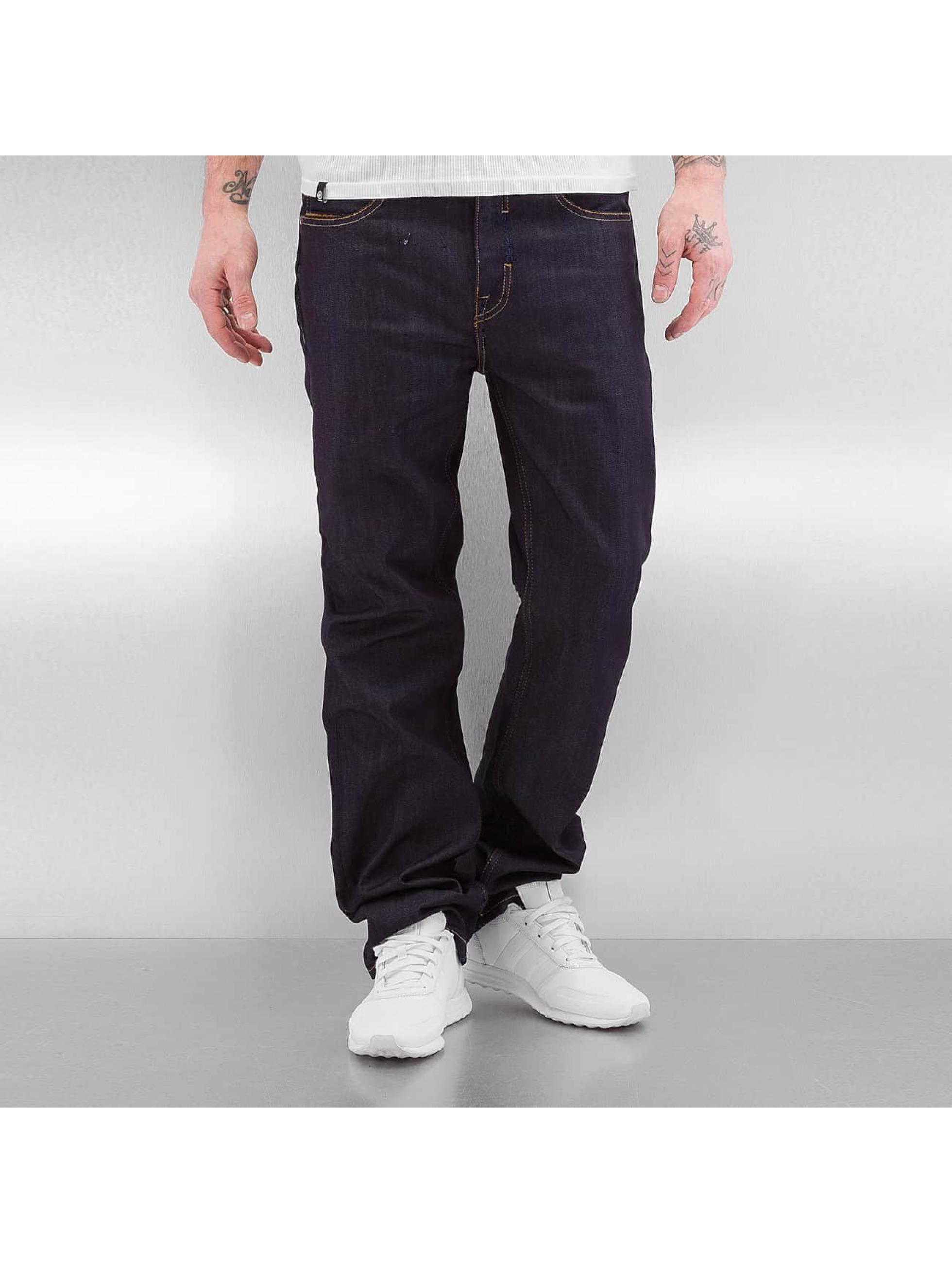Pelle Pelle Männer Loose Fit Jeans Baxter in indigo