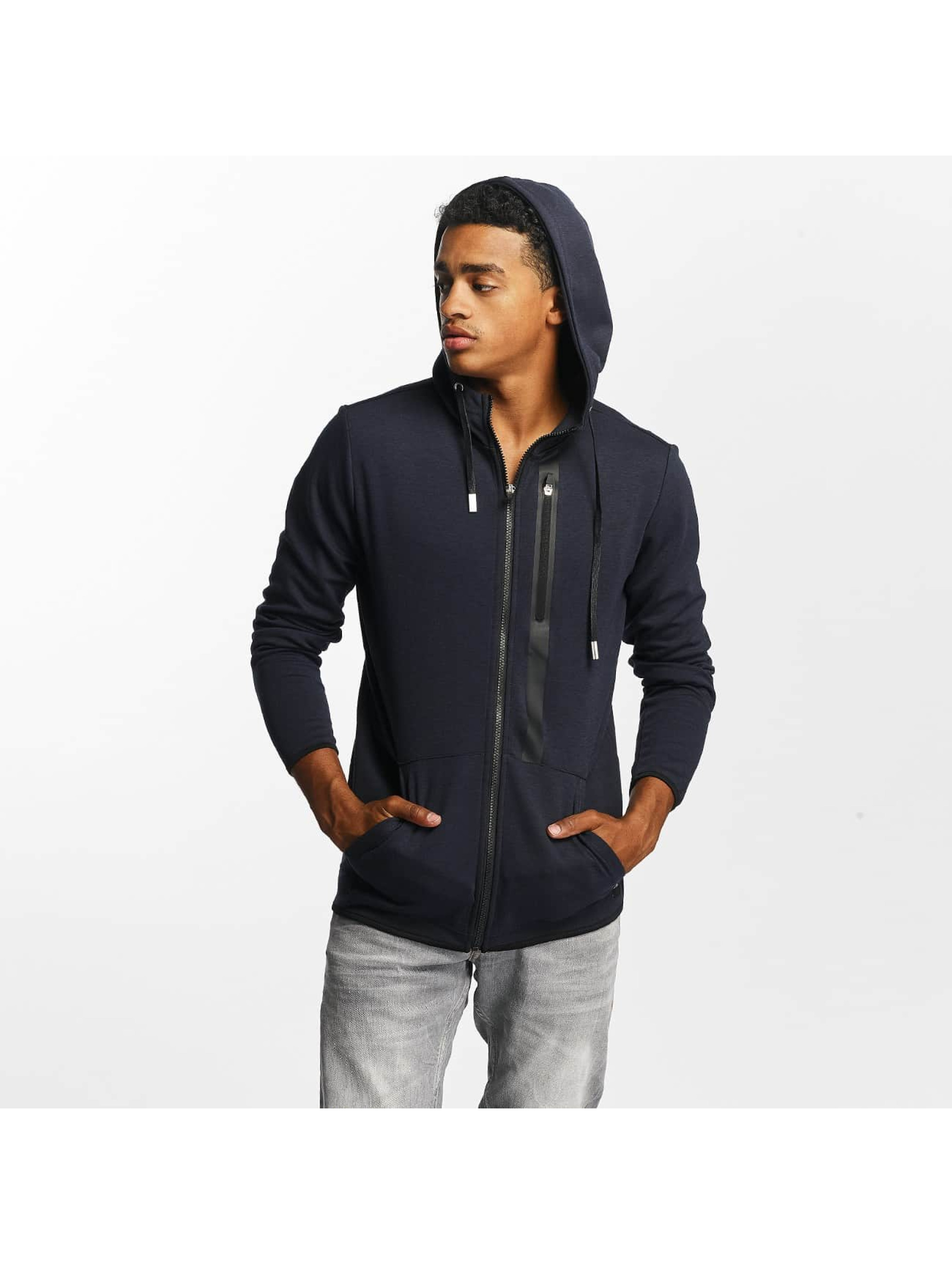 Only & Sons Männer Zip Hoodie onsVinn in blau