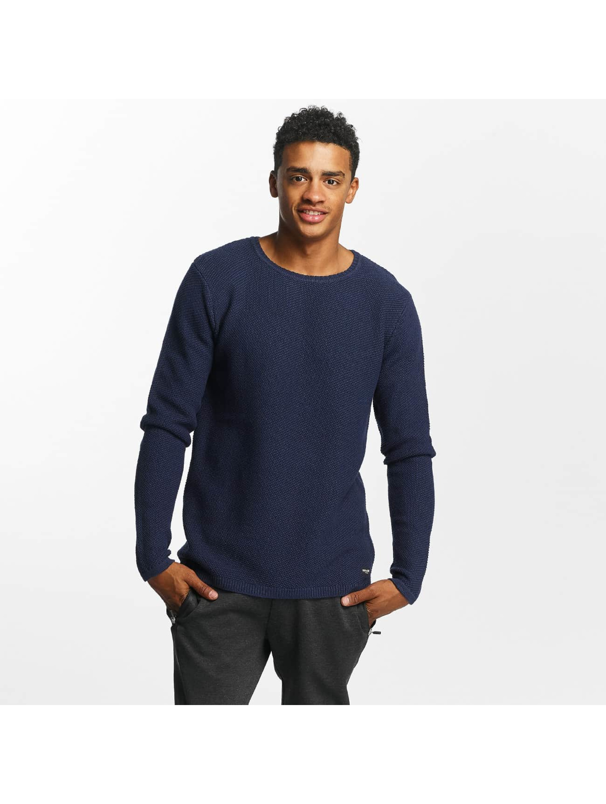 Only & Sons Männer Pullover onsDan Structure in blau
