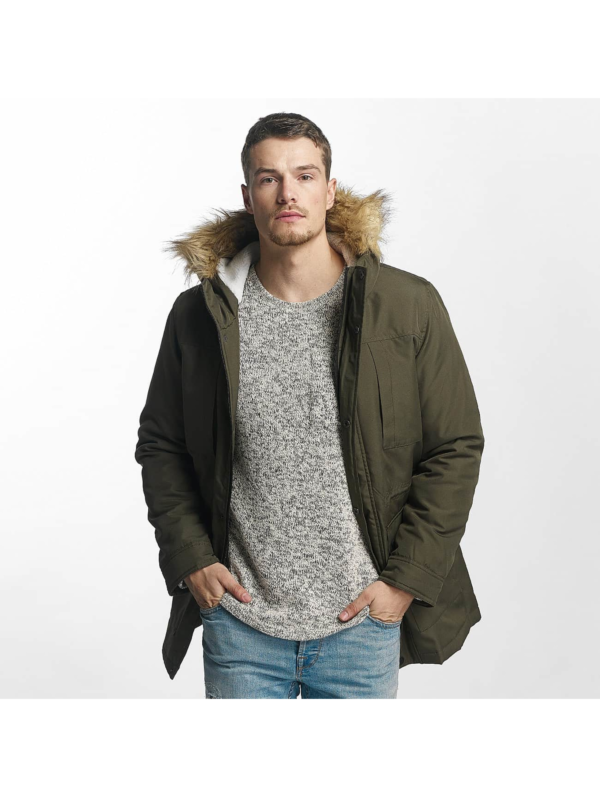 Only & Sons Männer Winterjacke onsEskil in grün
