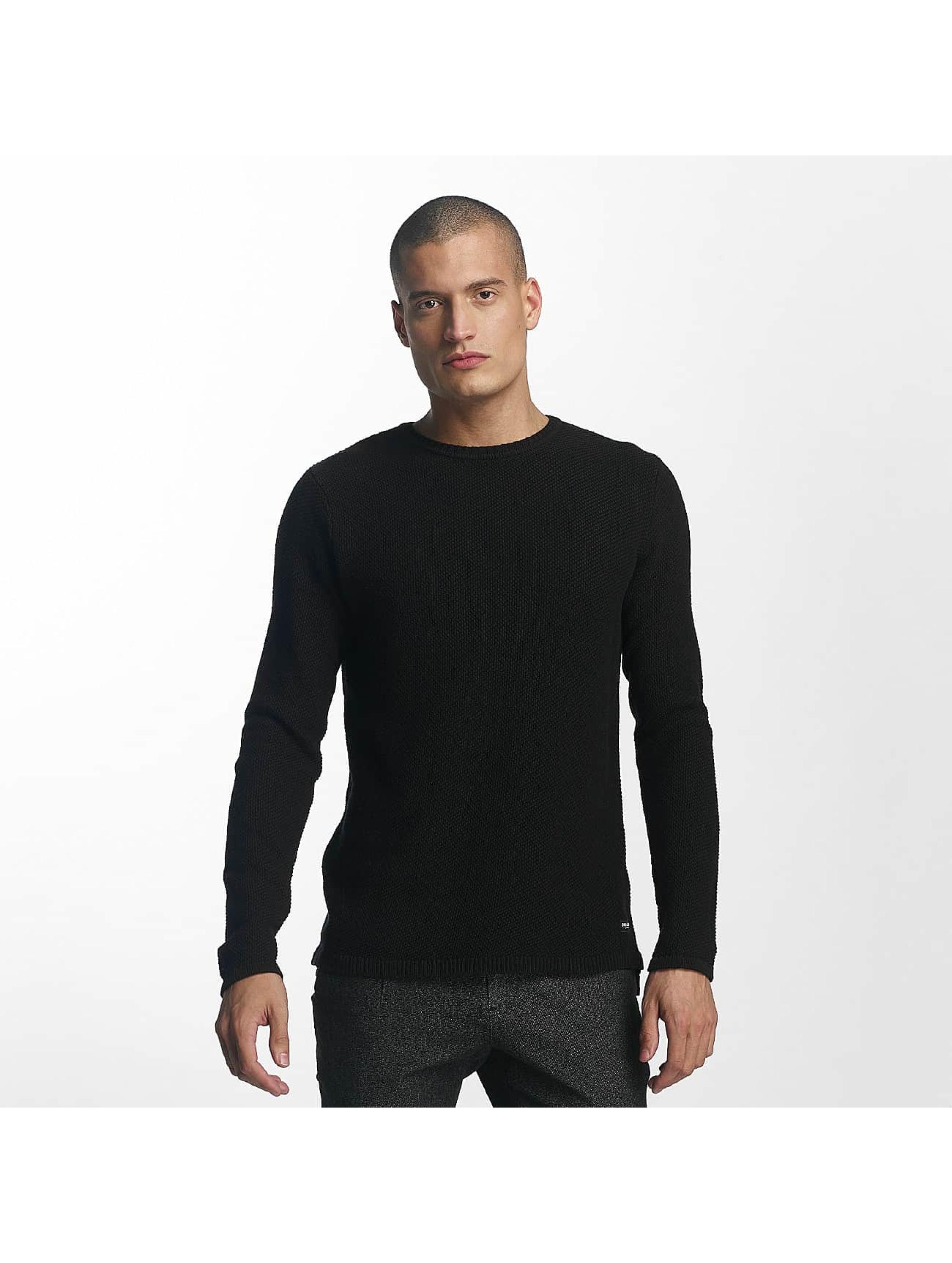 Only & Sons Männer Pullover onsDan Structure in schwarz