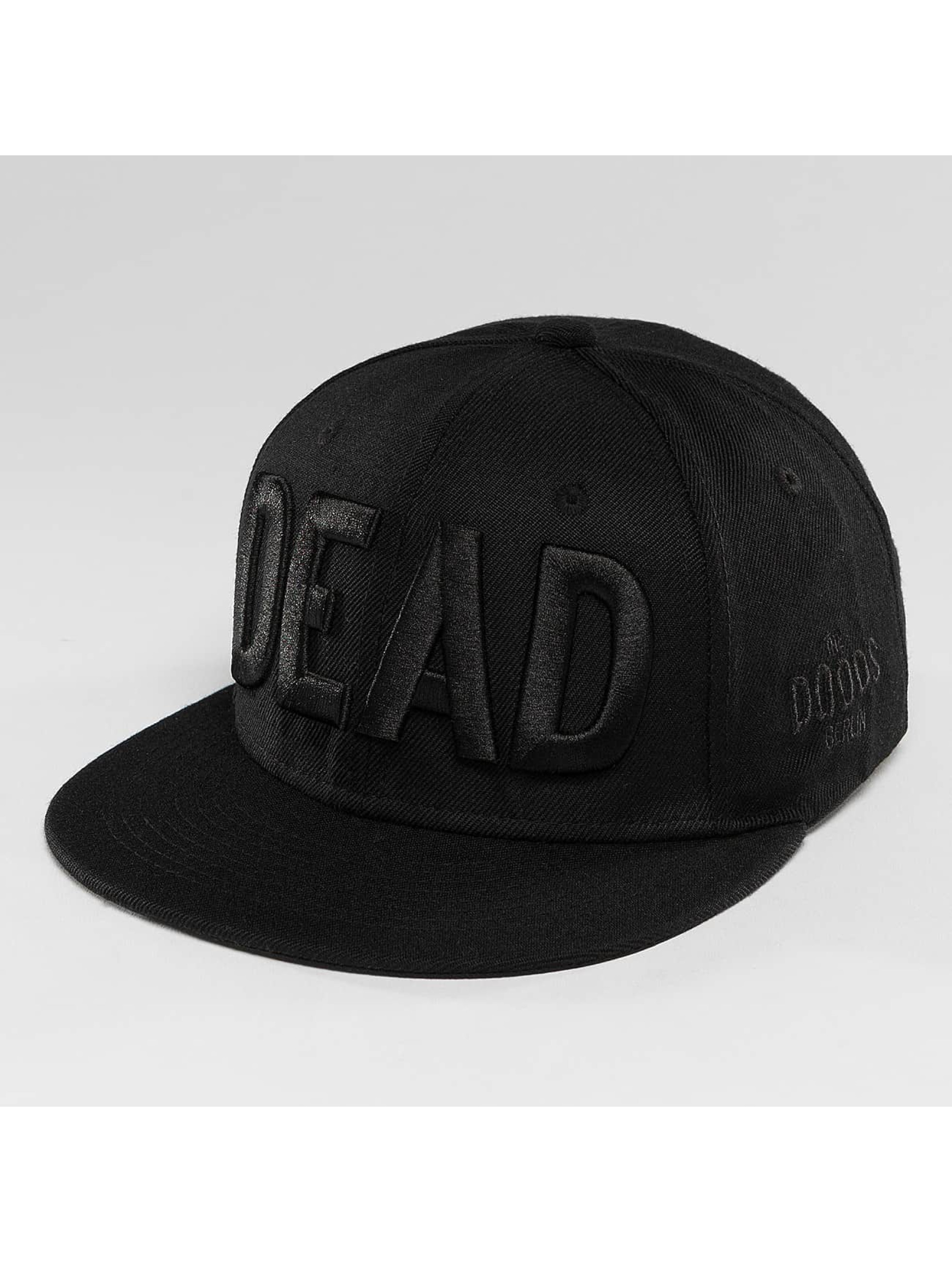 The Dudes Männer,Frauen Snapback Cap DEAD in schwarz