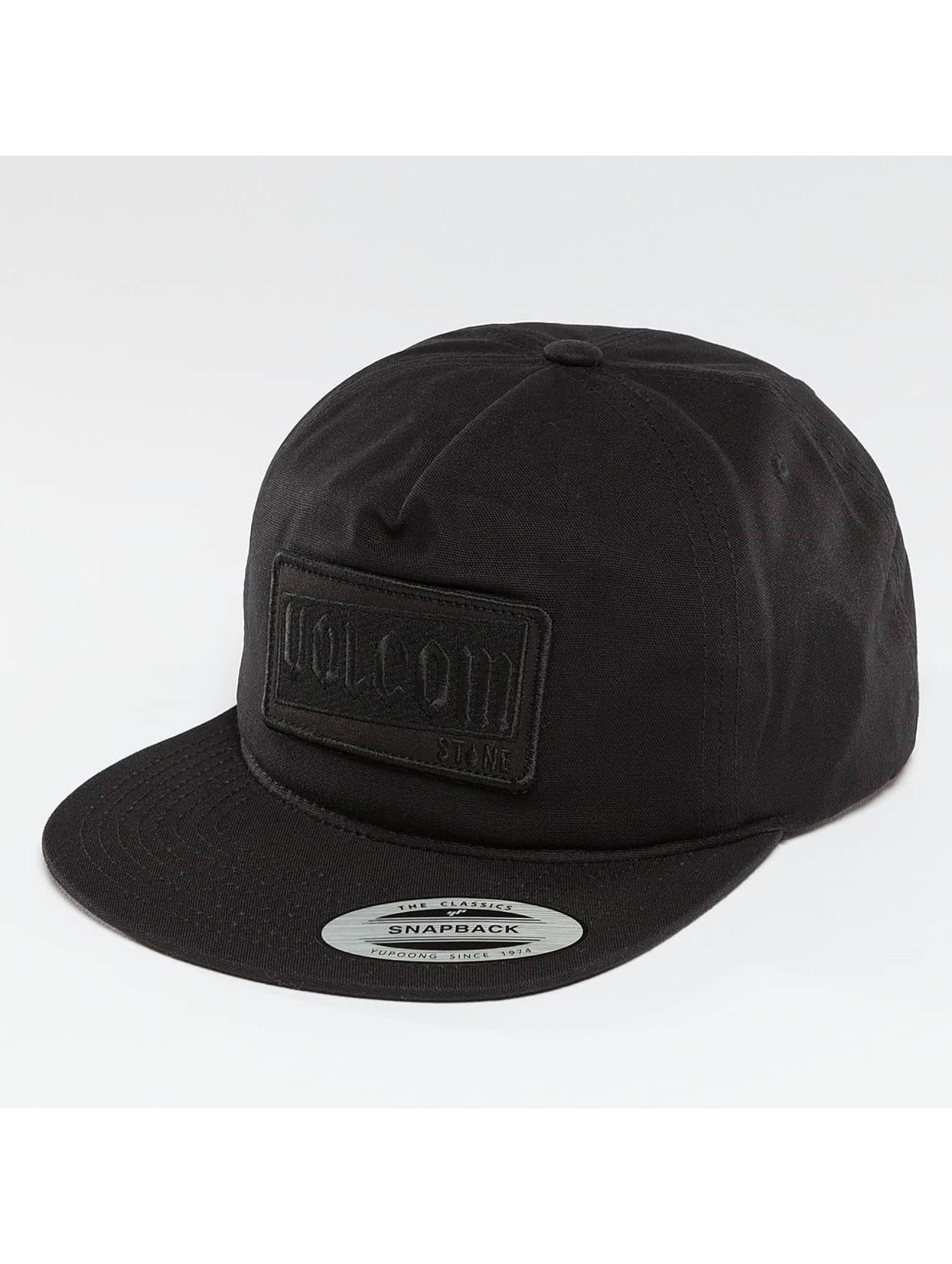 Volcom Männer,Frauen Snapback Cap Rotor in schwarz