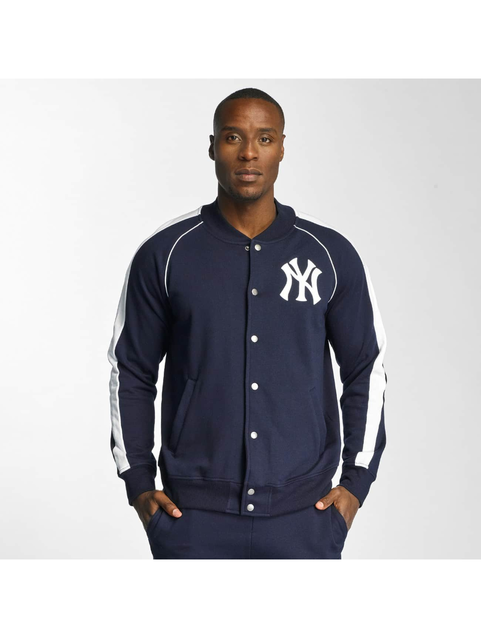 Majestic Athletic Männer College Jacke NY Yankees in blau