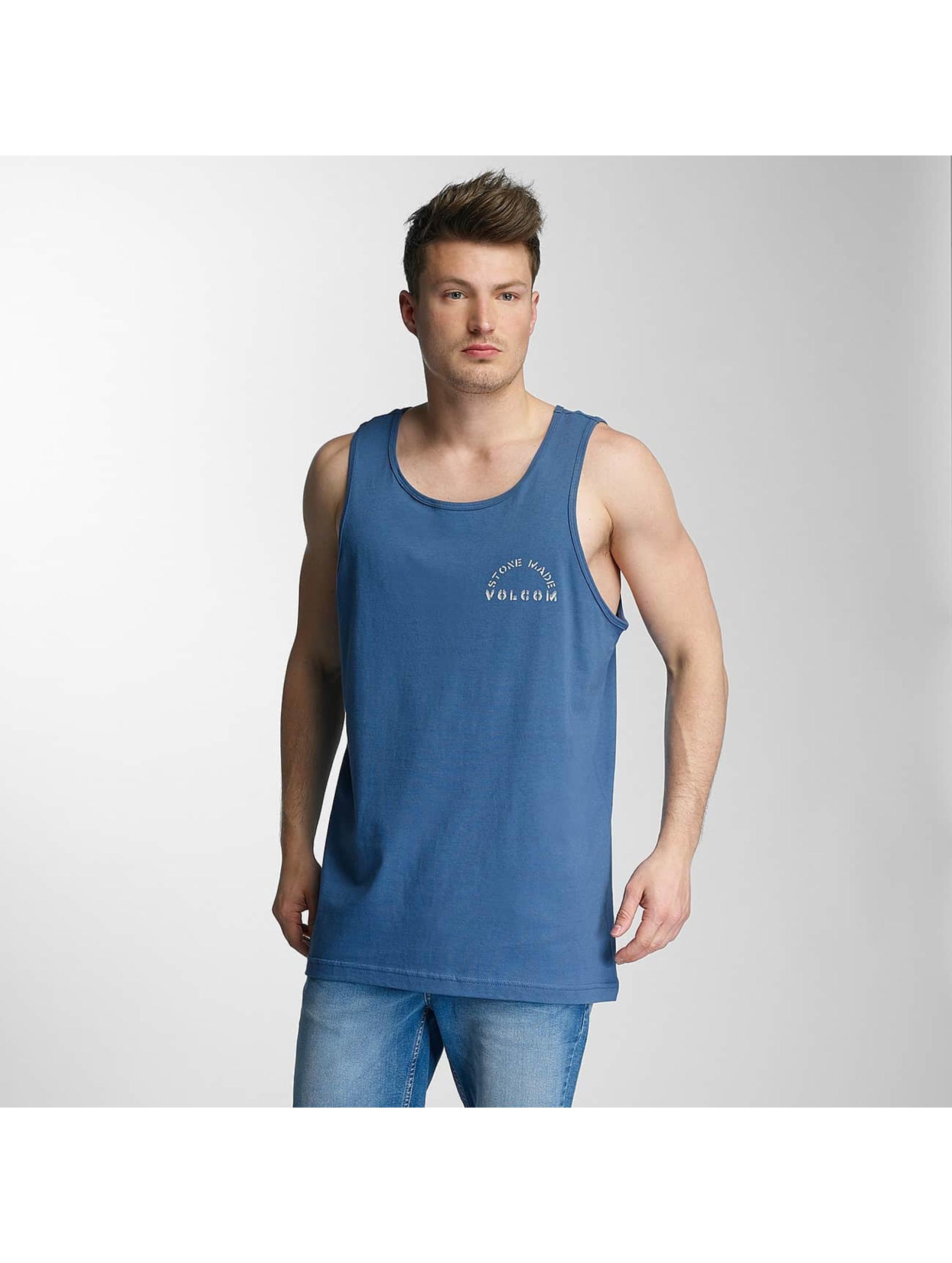 Volcom Männer Tank Tops Sarcrasstic in blau