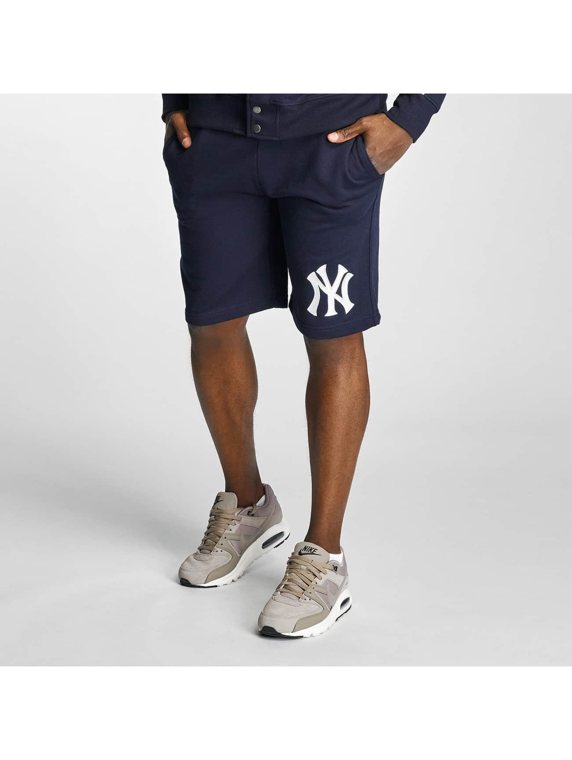Majestic Athletic Männer Shorts NY Yankees in blau