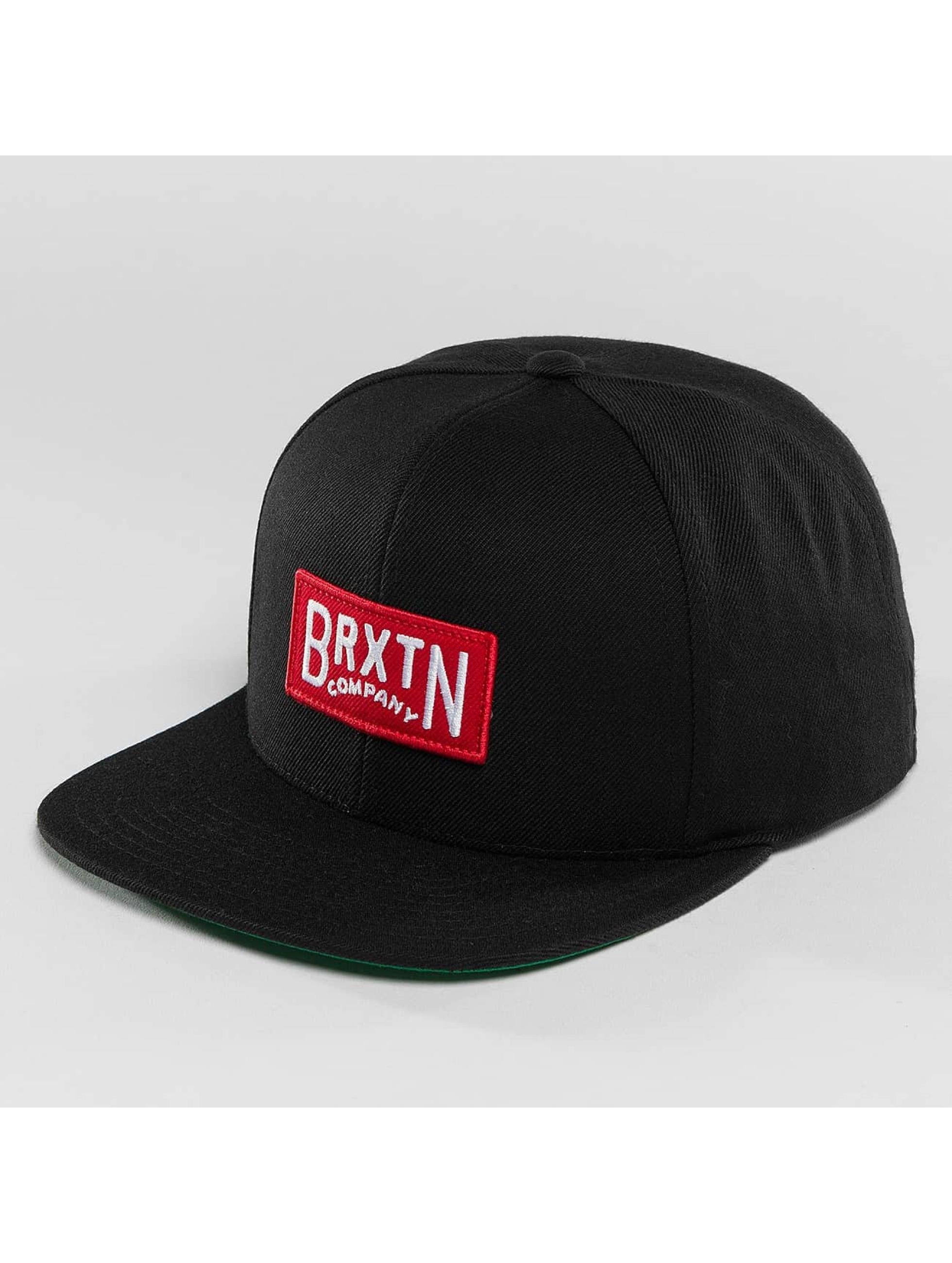 Brixton Männer Snapback Cap Langlay in schwarz