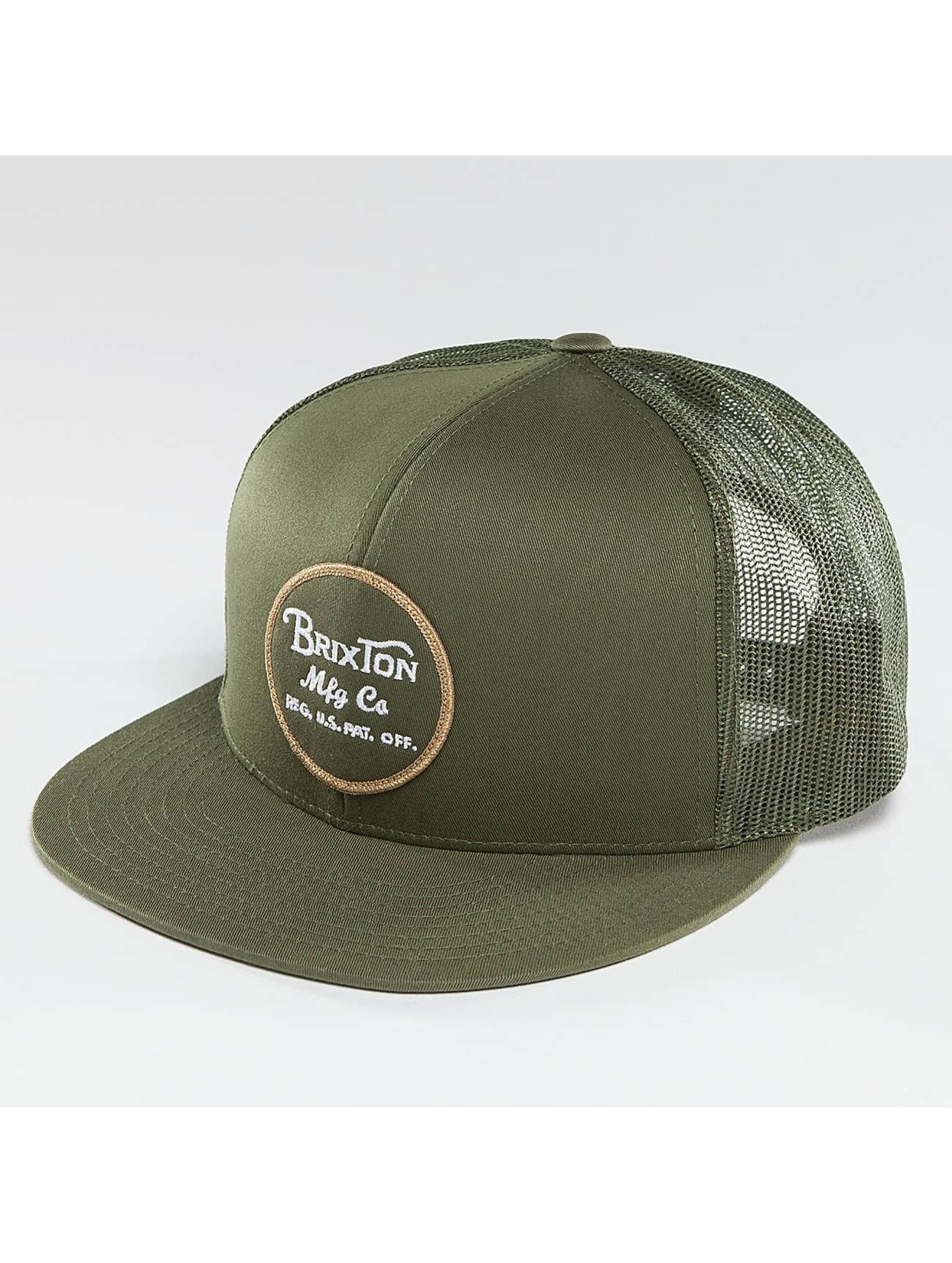 Brixton / Trucker Cap Wheeler in olive