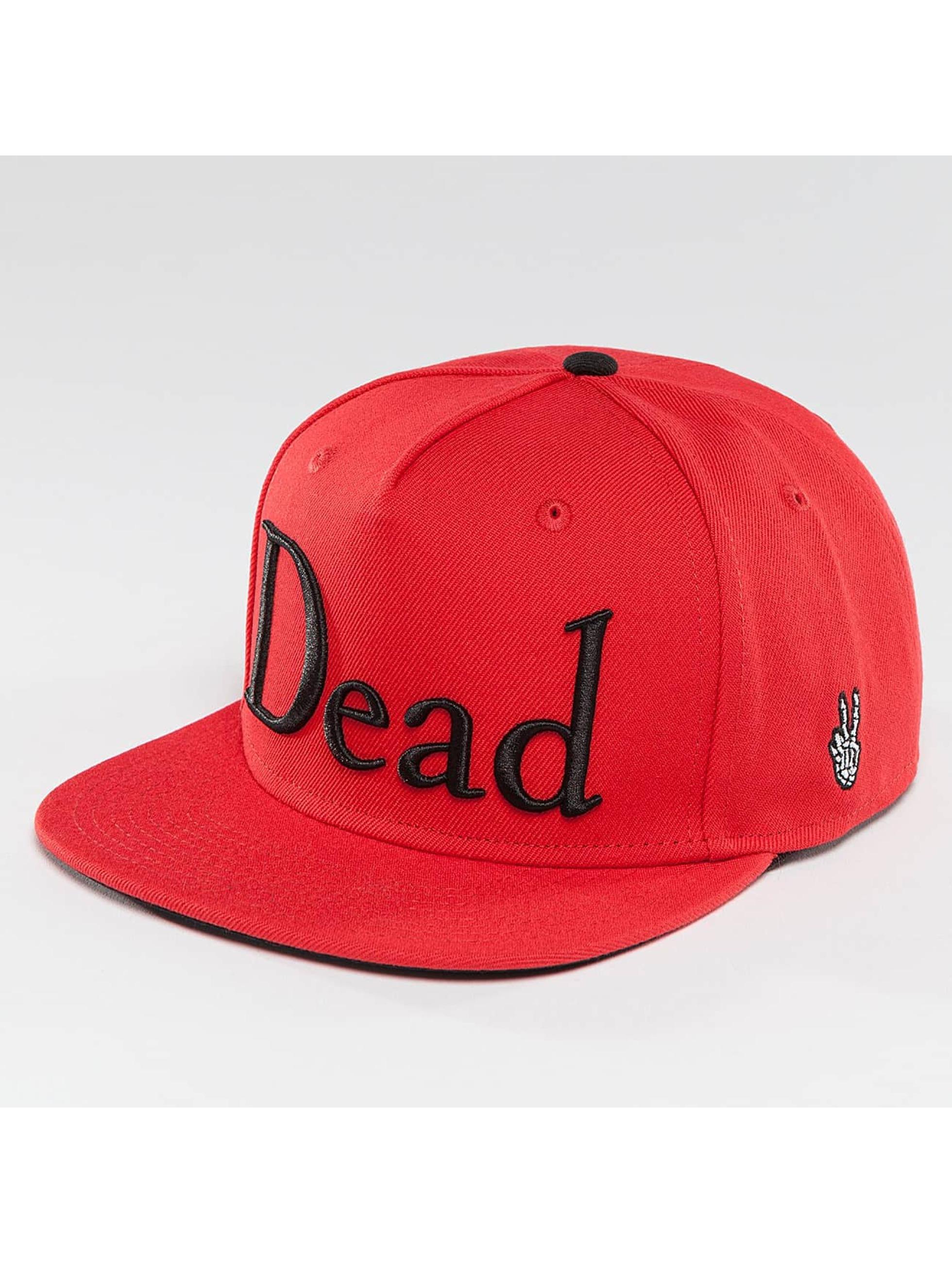 NEFF Männer,Frauen Snapback Cap Dead in rot