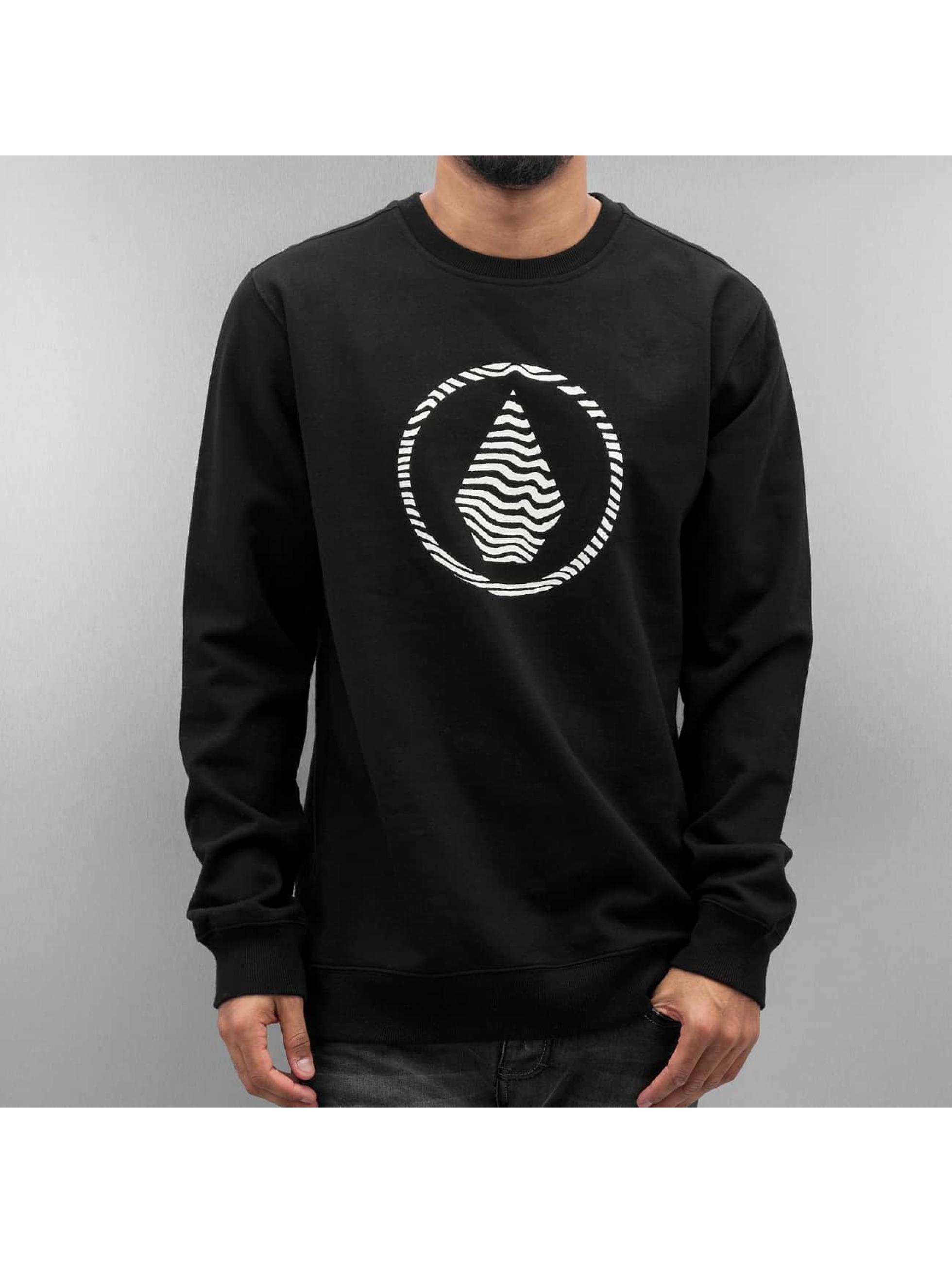 Volcom Männer Pullover Sone Fleece in schwarz
