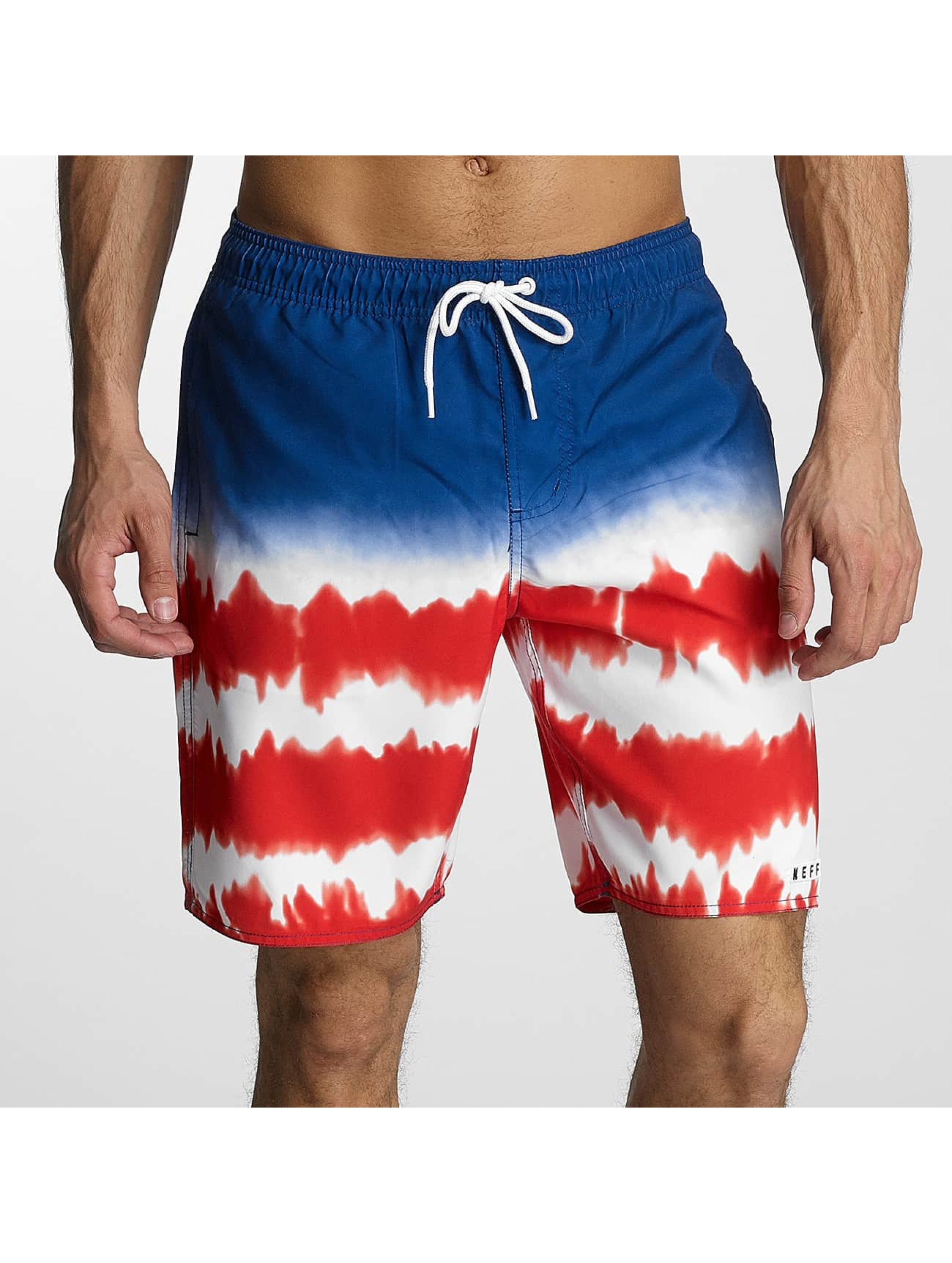 NEFF Männer Badeshorts DYE Stripe Hot Tub in rot