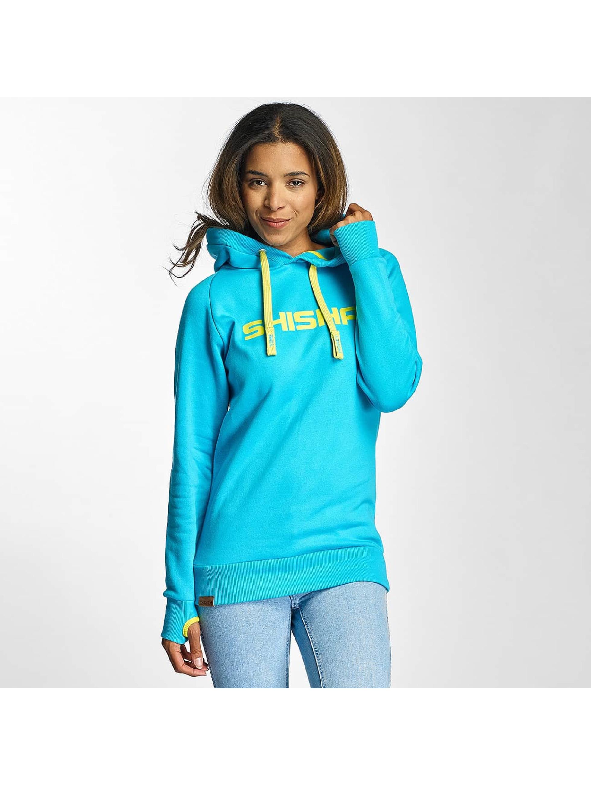 Shisha Frauen Hoody Classic in blau