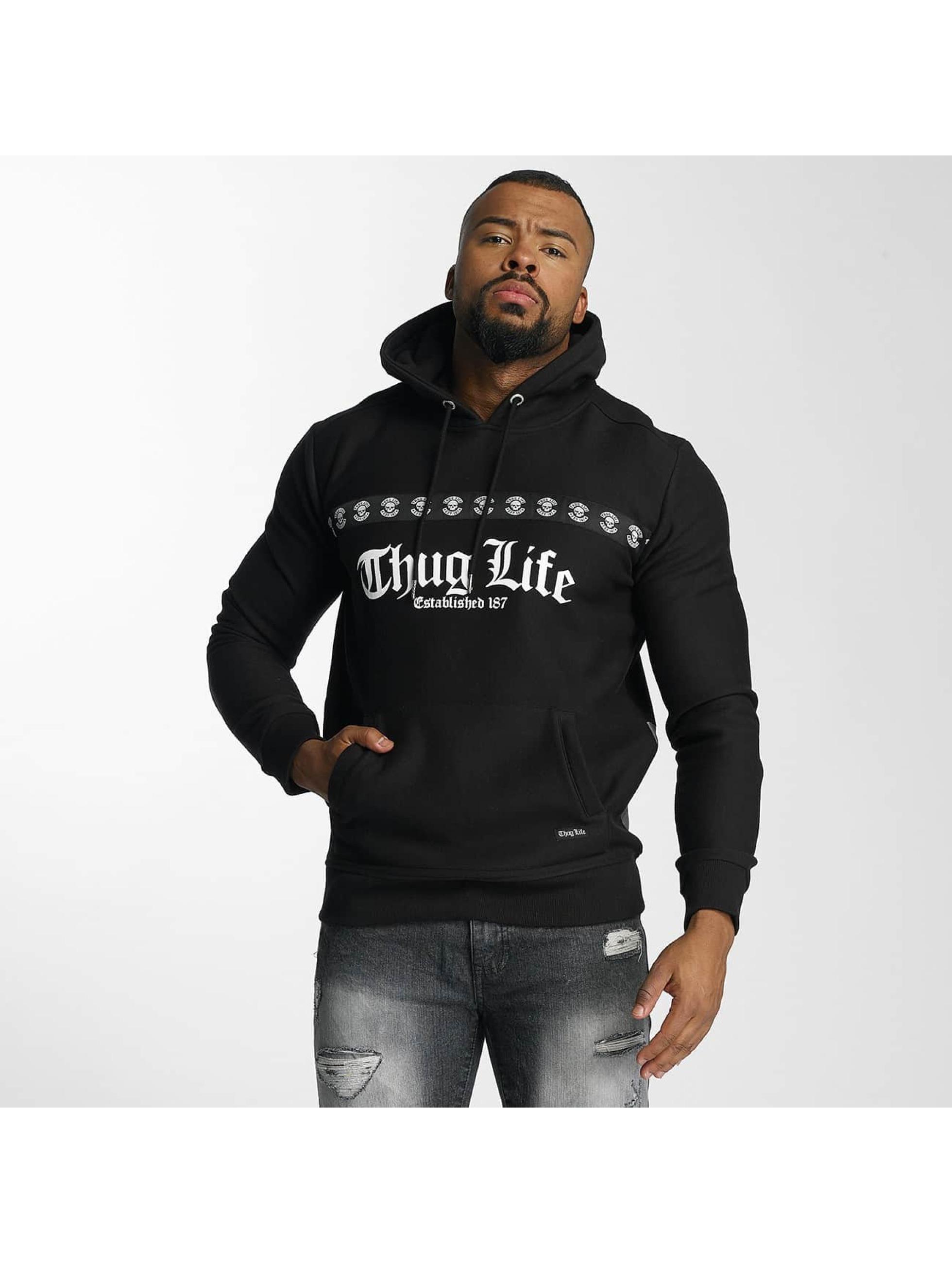Thug Life / Hoodie Burn in black 2XL