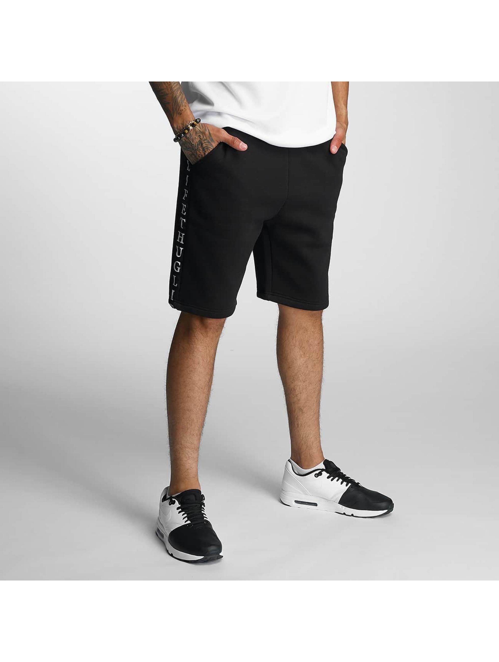 Thug Life / Short Twostripes in black S