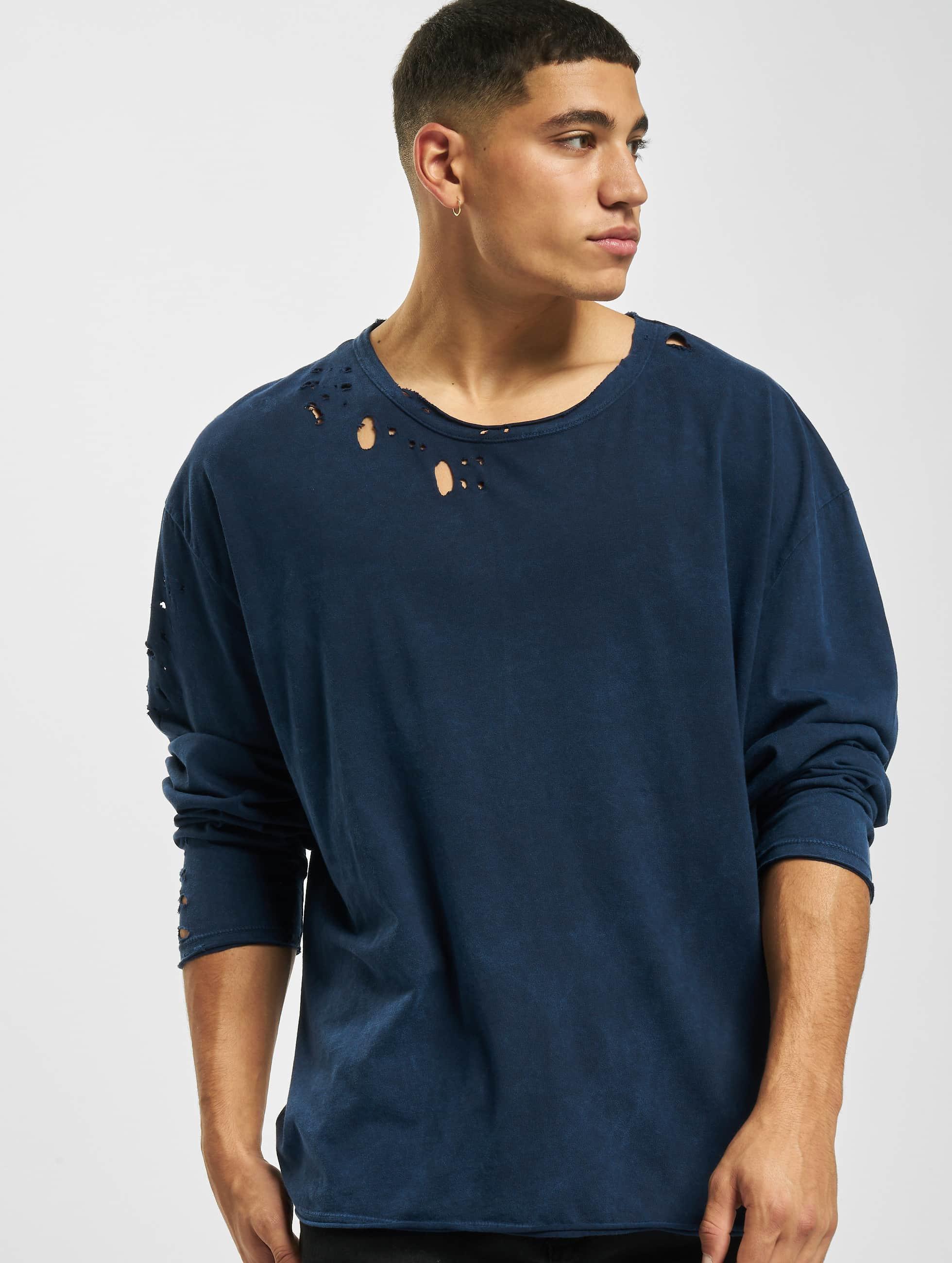 Bangastic Männer Pullover Simpitian Oversize in blau