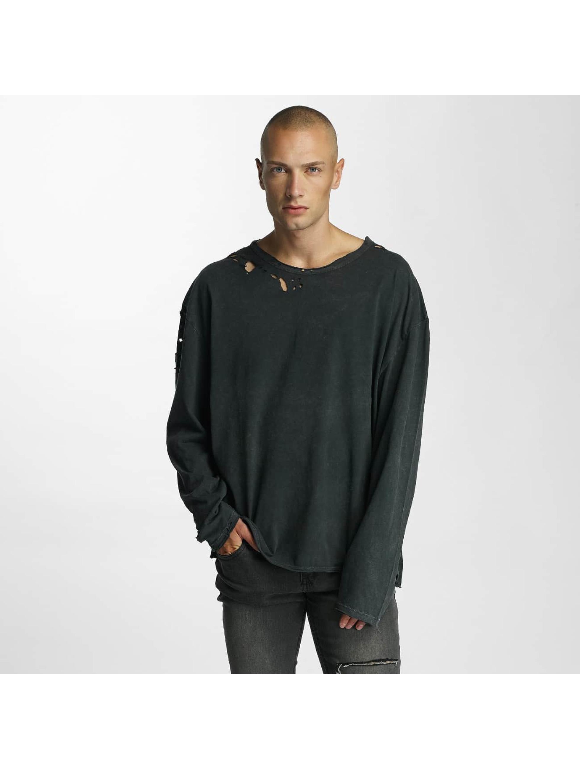 Bangastic Männer Pullover Simpitian Oversize in schwarz