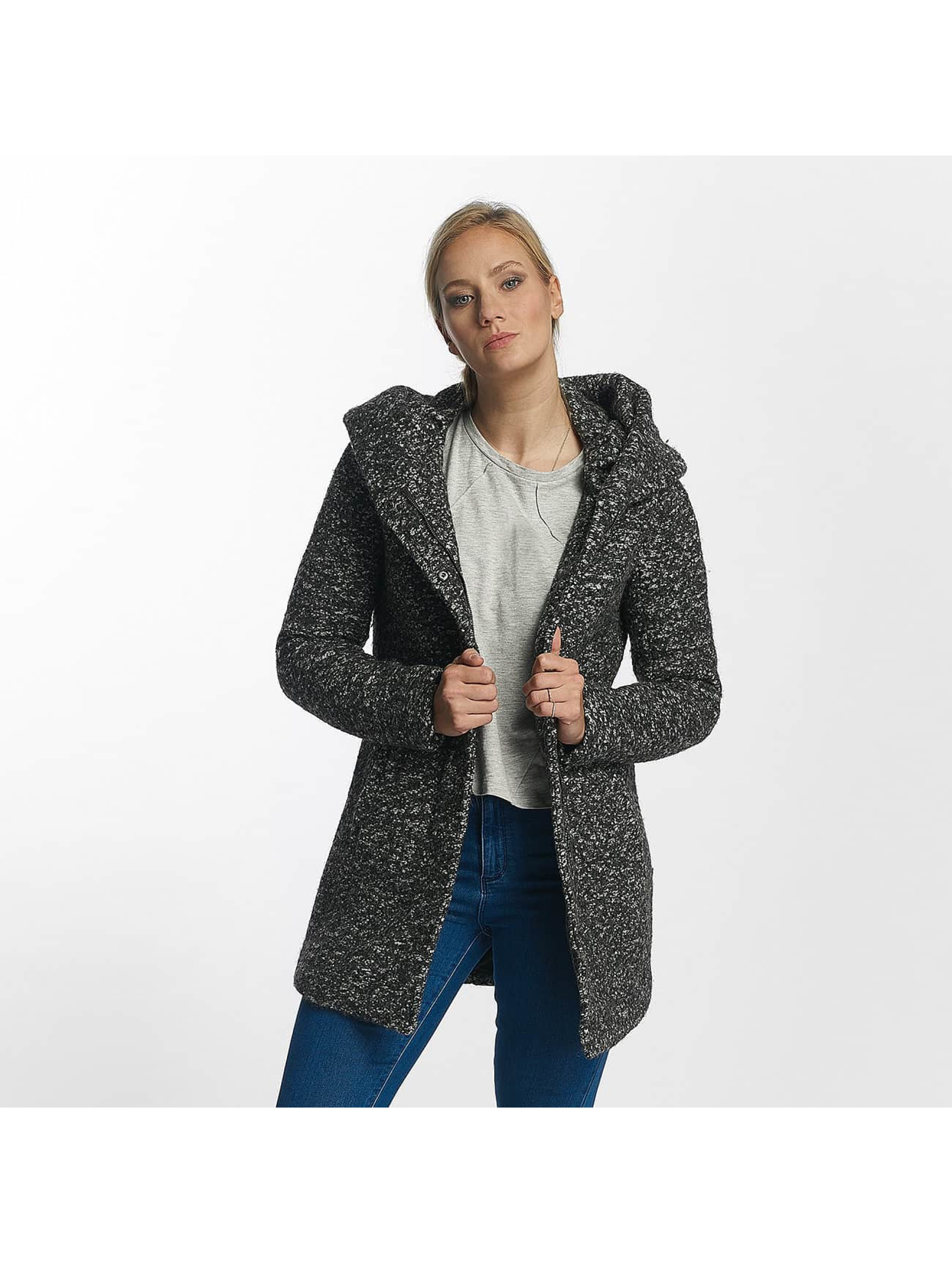 Only Frauen Winterjacke onlIndie Noma Wool in grau