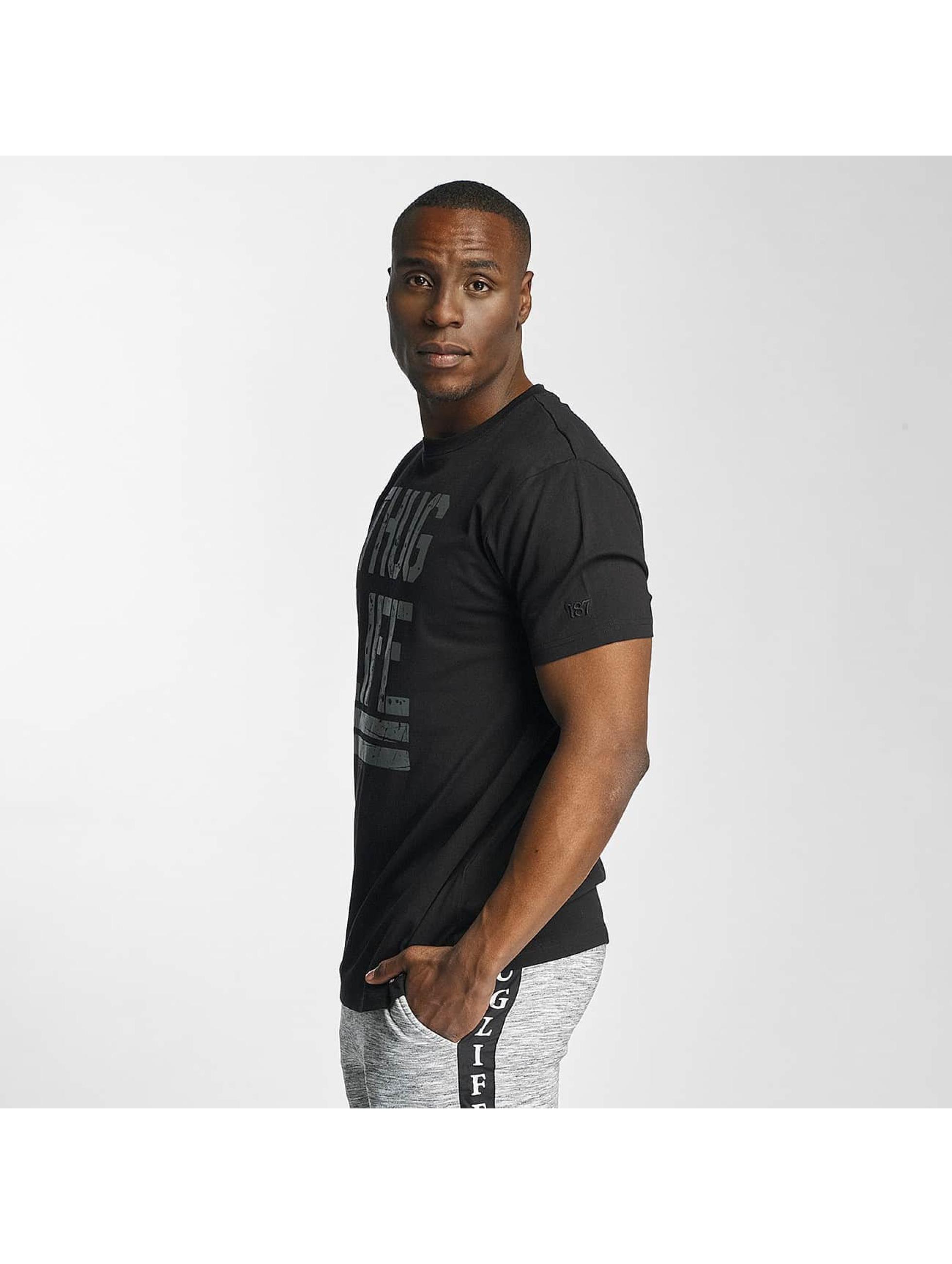 Thug Life / T-Shirt Ghost in black M