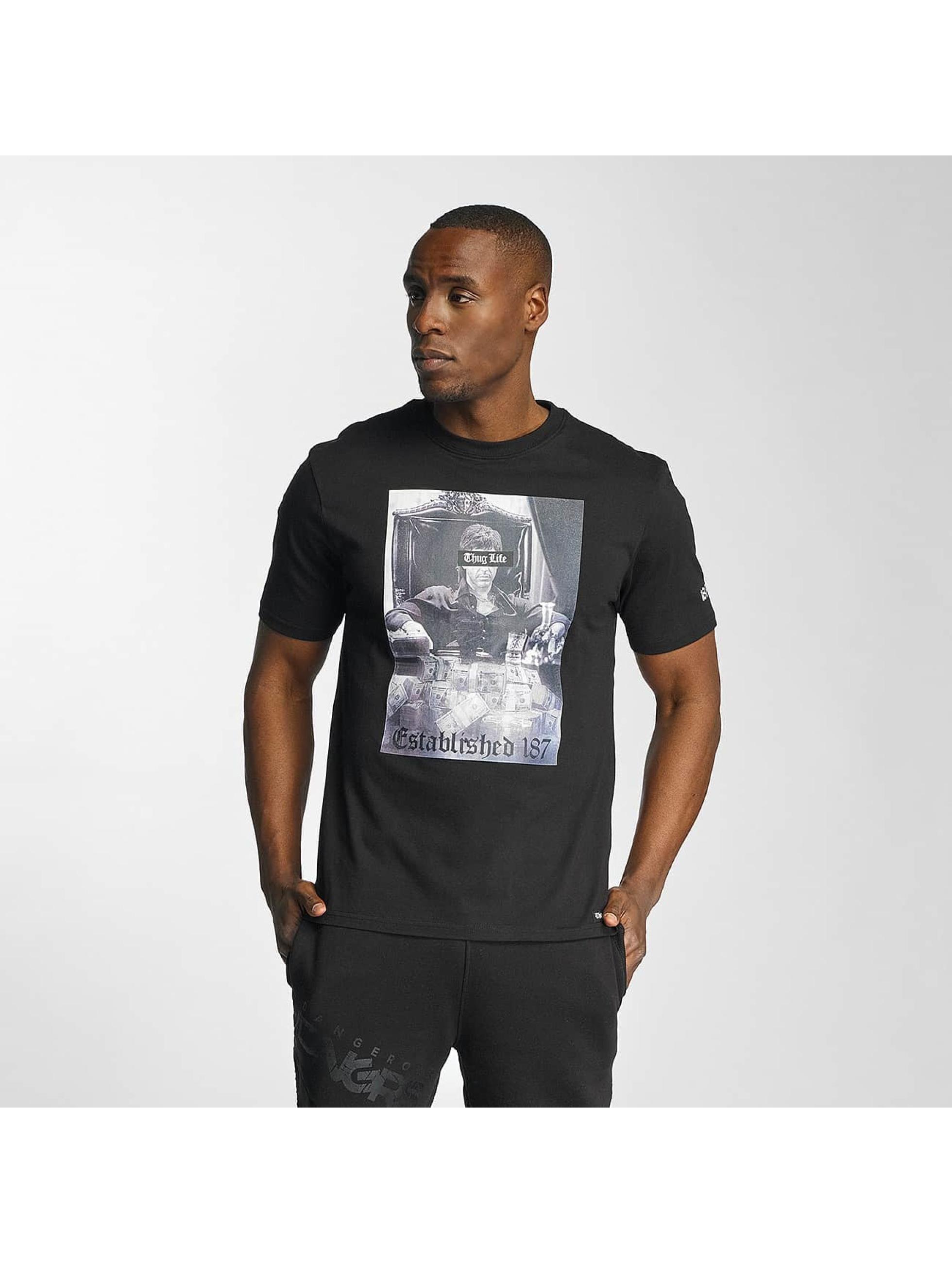 Thug Life / T-Shirt Scar in black M