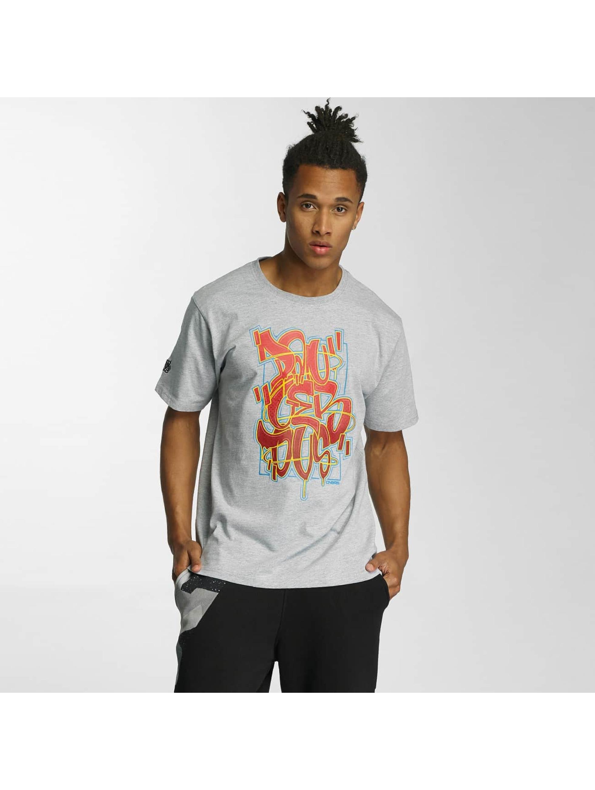 Dangerous DNGRS Männer T-Shirt Moik Style in grau