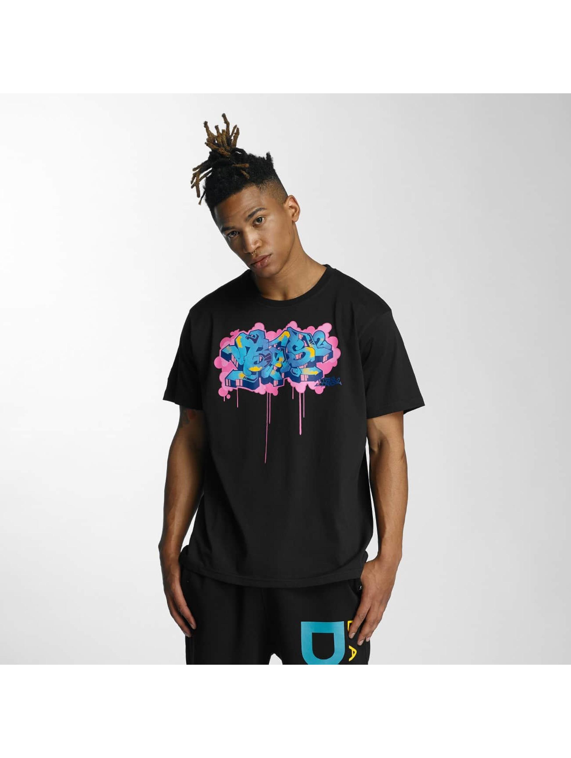 Dangerous DNGRS Männer T-Shirt Bas2 Style in schwarz