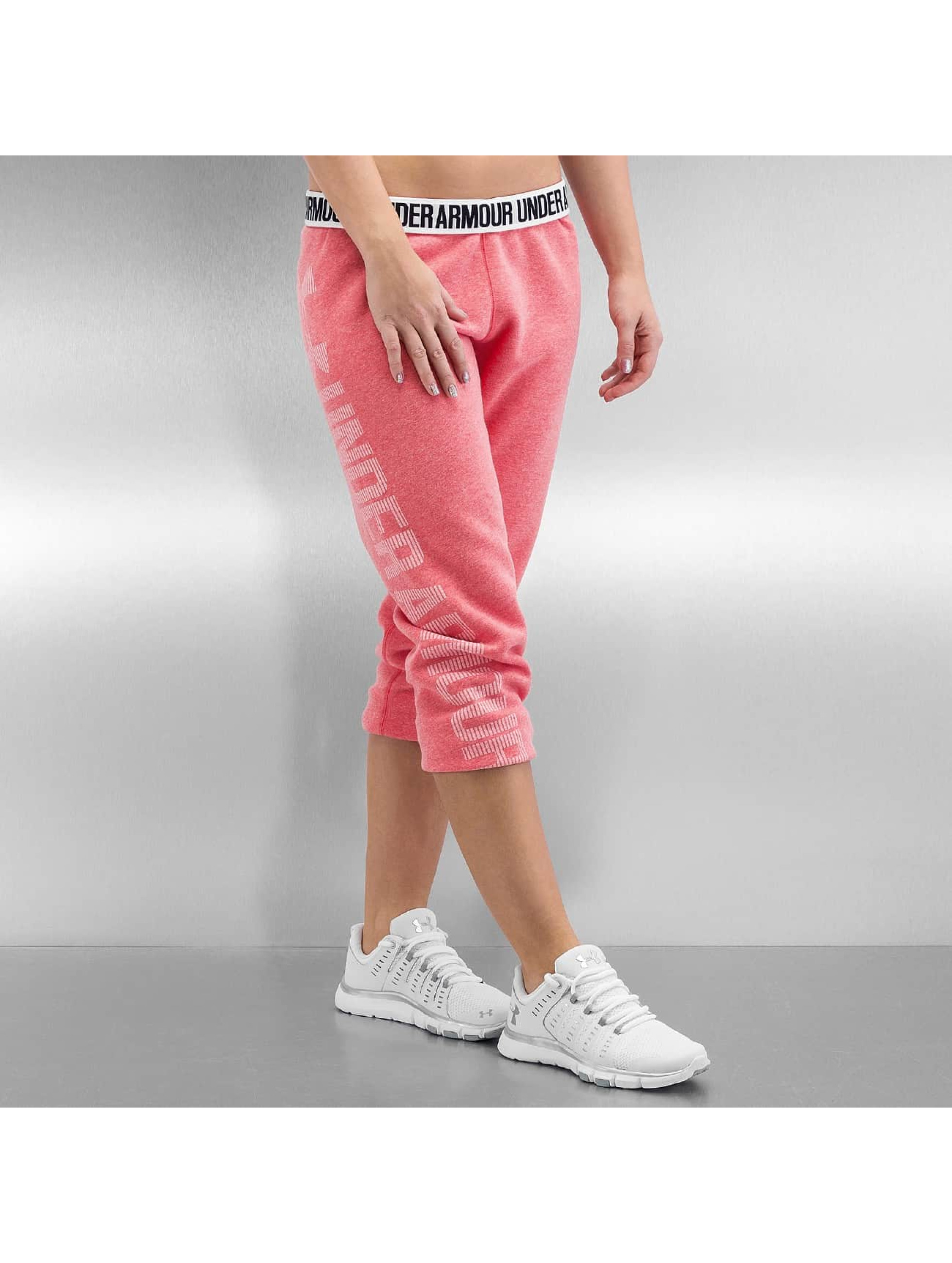 Under Armour Frauen Jogginghose Favorite Fleece in pink