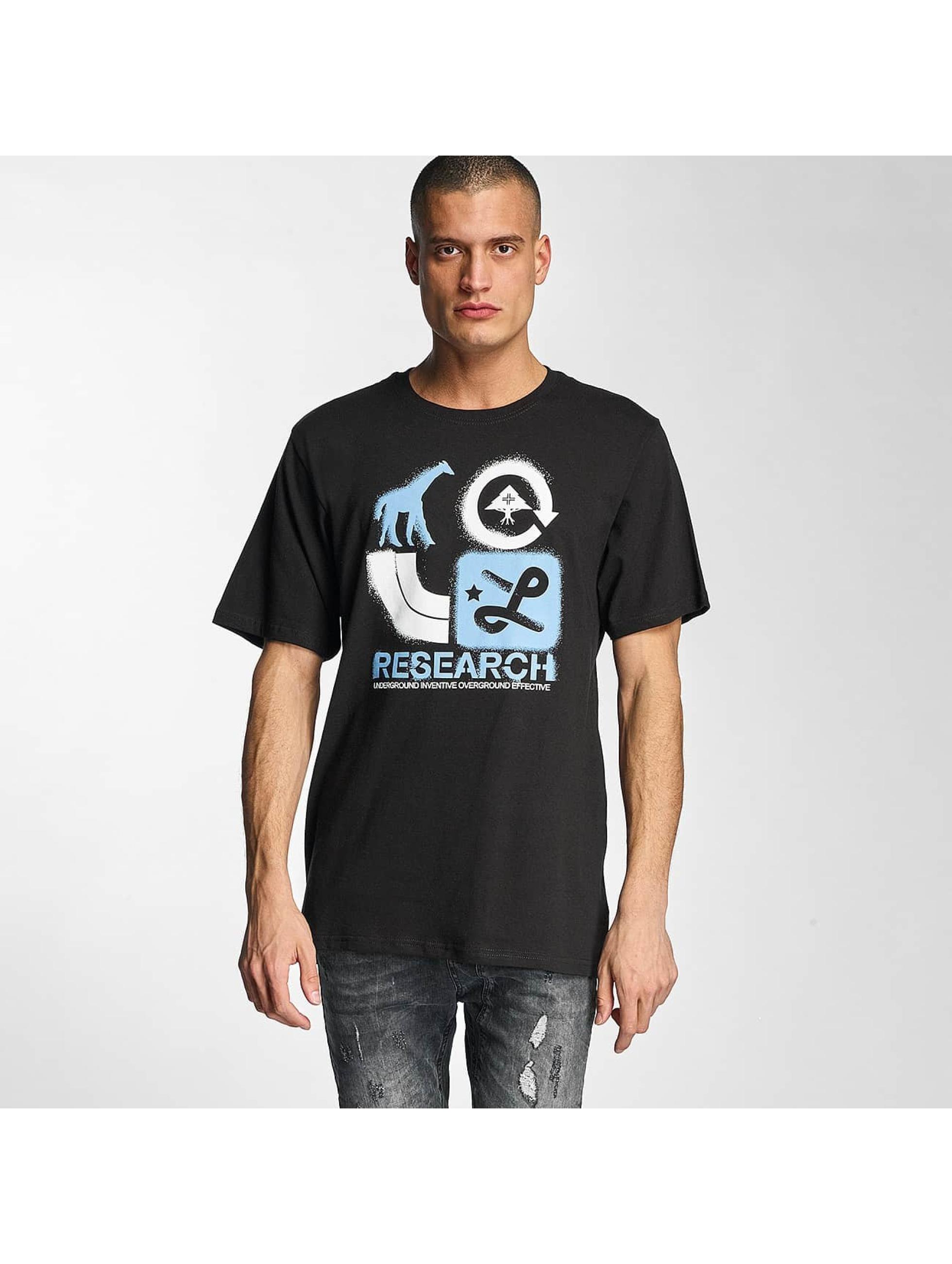 LRG Männer T-Shirt Spray Away in schwarz