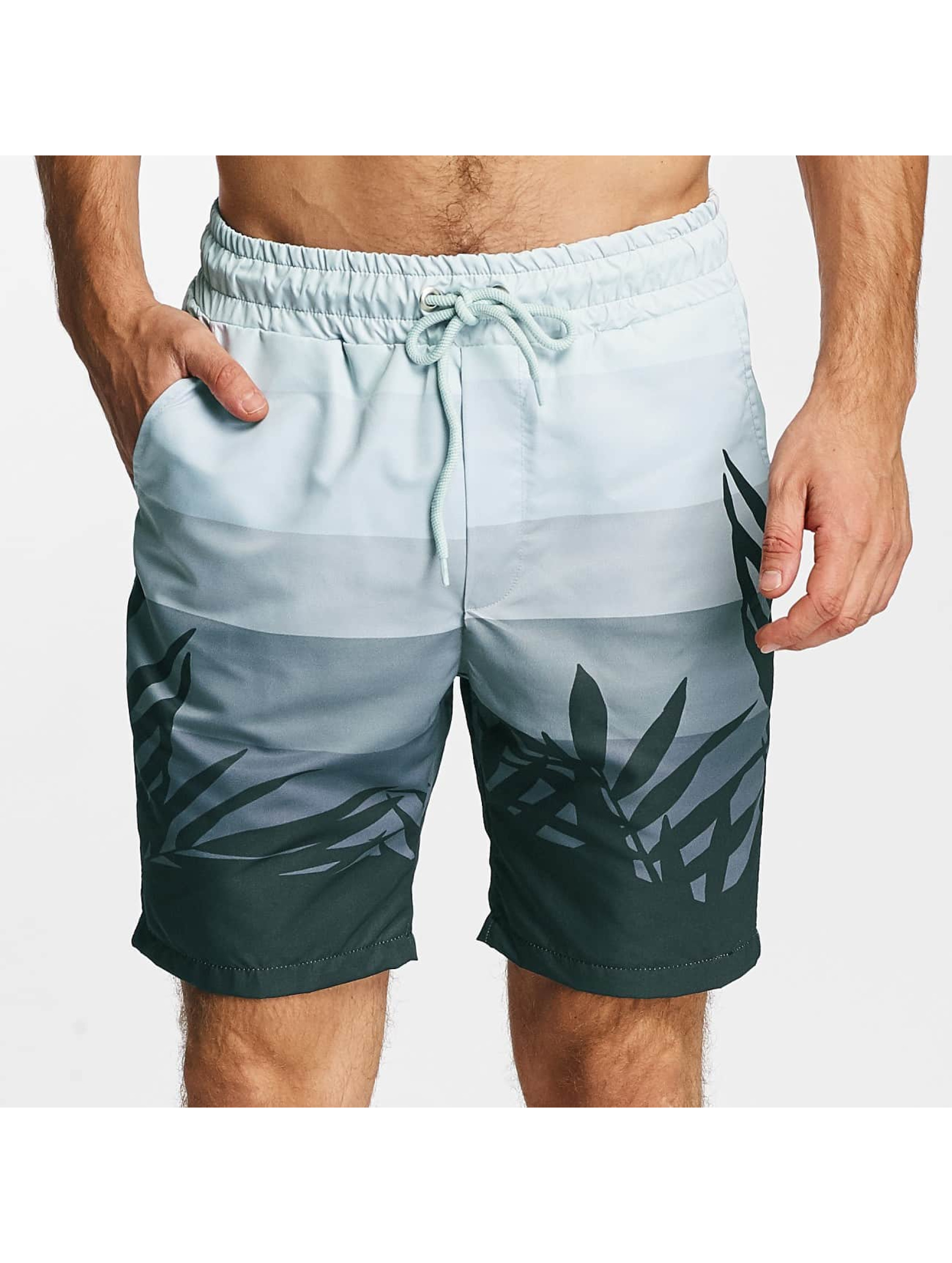 Just Rhyse Männer Badeshorts Ocean City in blau
