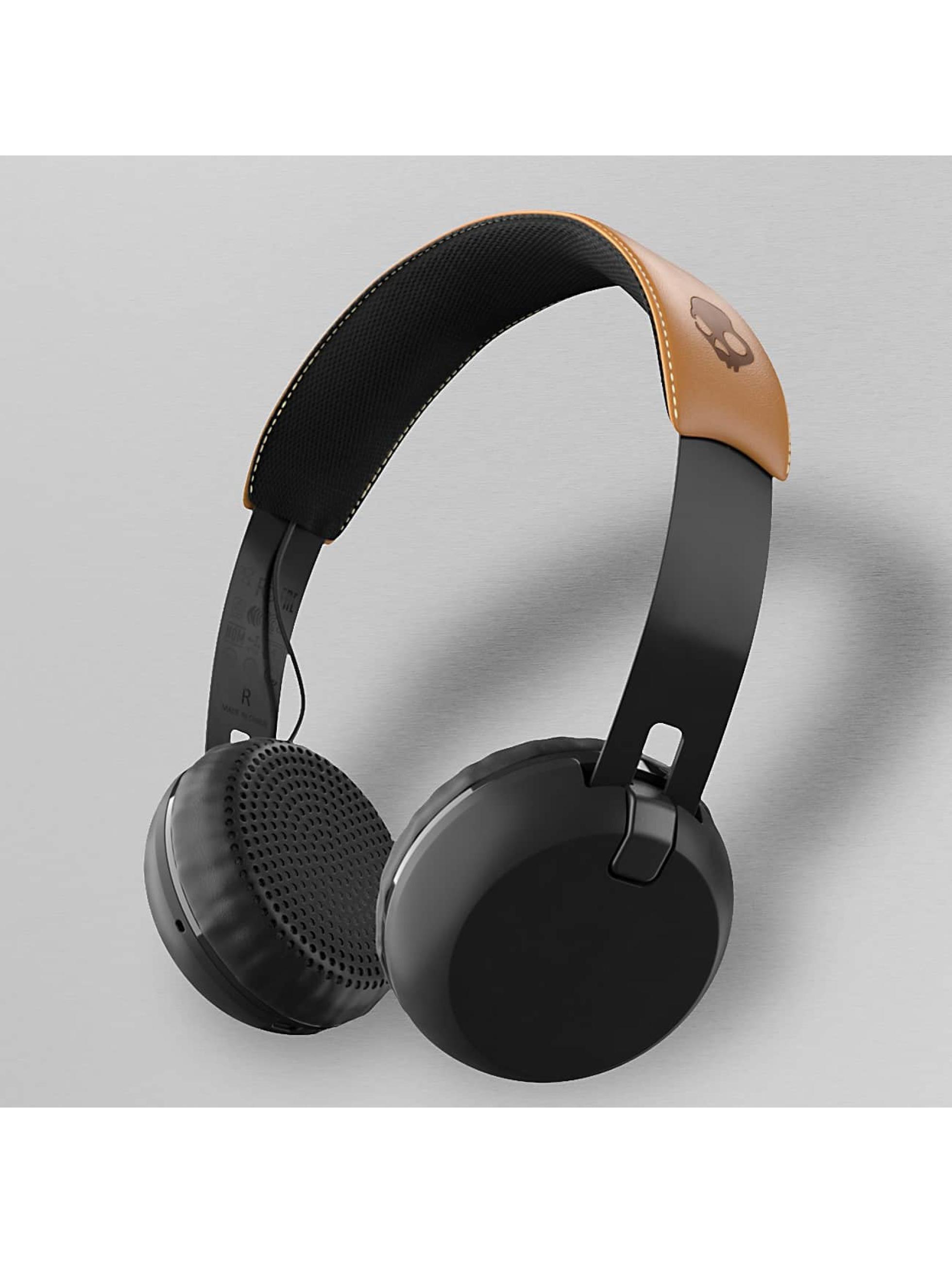 Skullcandy Männer,Frauen Kopfhörer Grind Wireless On Ear in schwarz