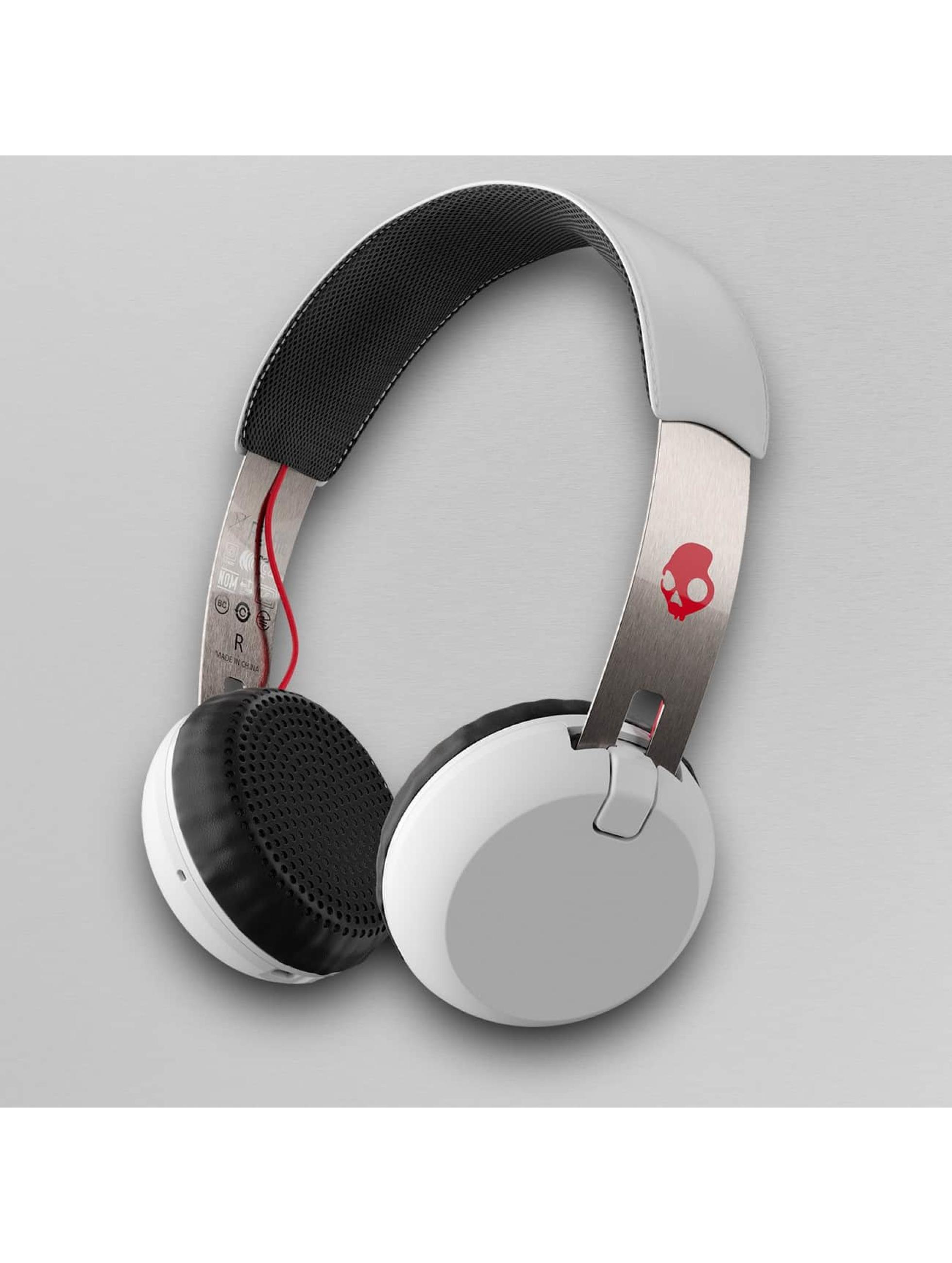 Skullcandy Männer,Frauen Kopfhörer Grind Wireless On Ear in weiß
