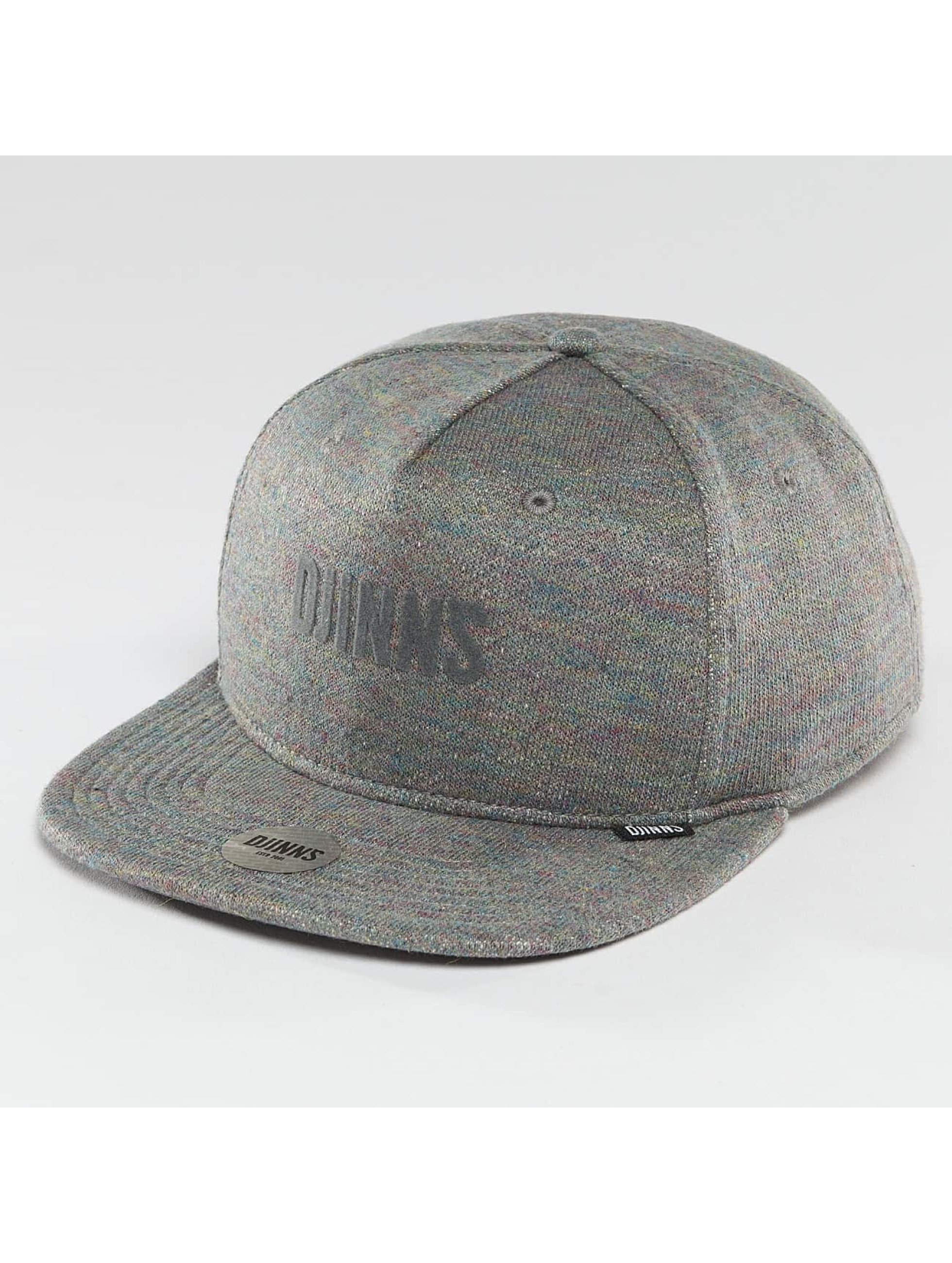 Djinns Männer,Frauen Snapback Cap Multi Melange in grau