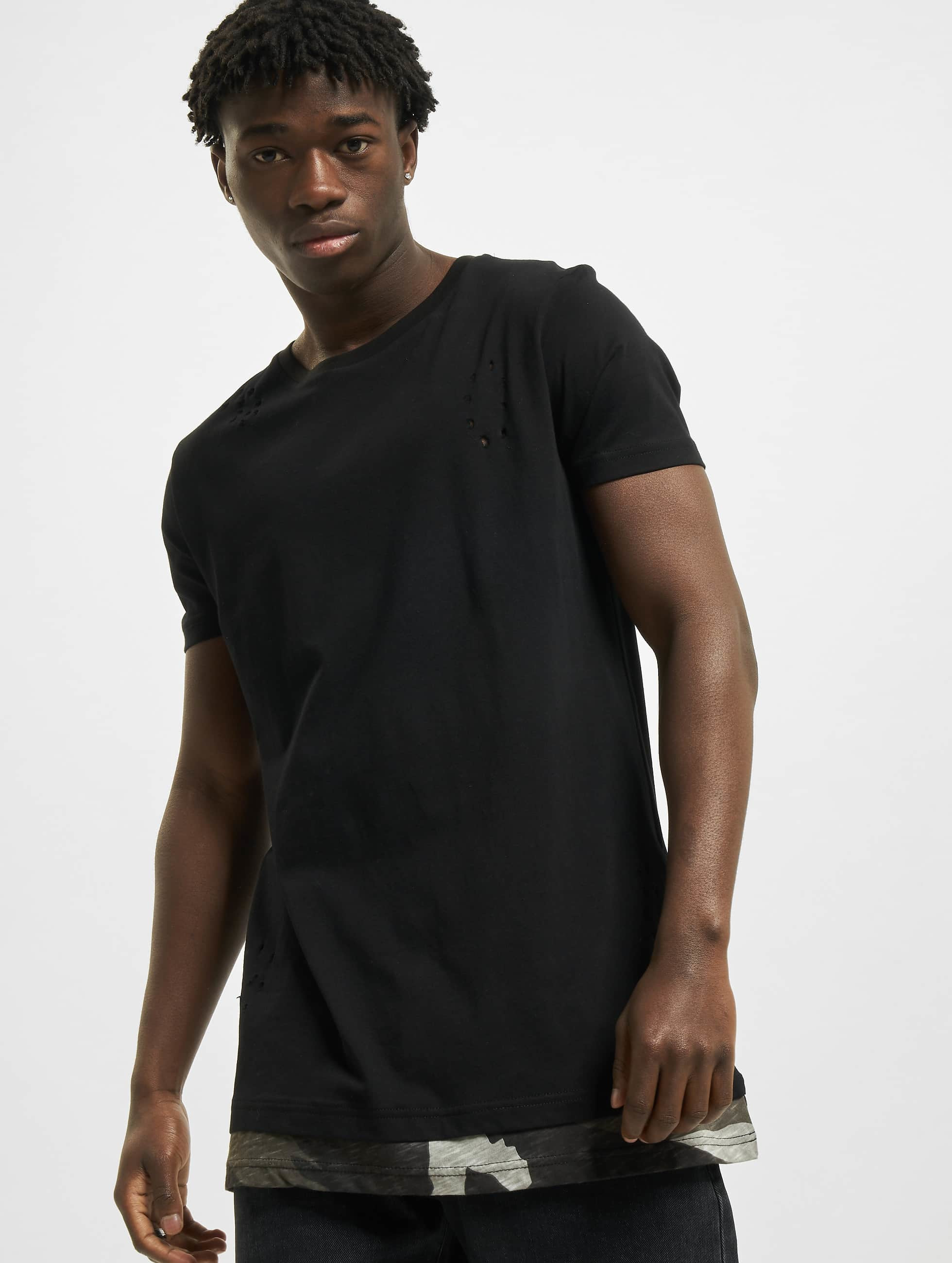DEF / T-Shirt Mimo in black