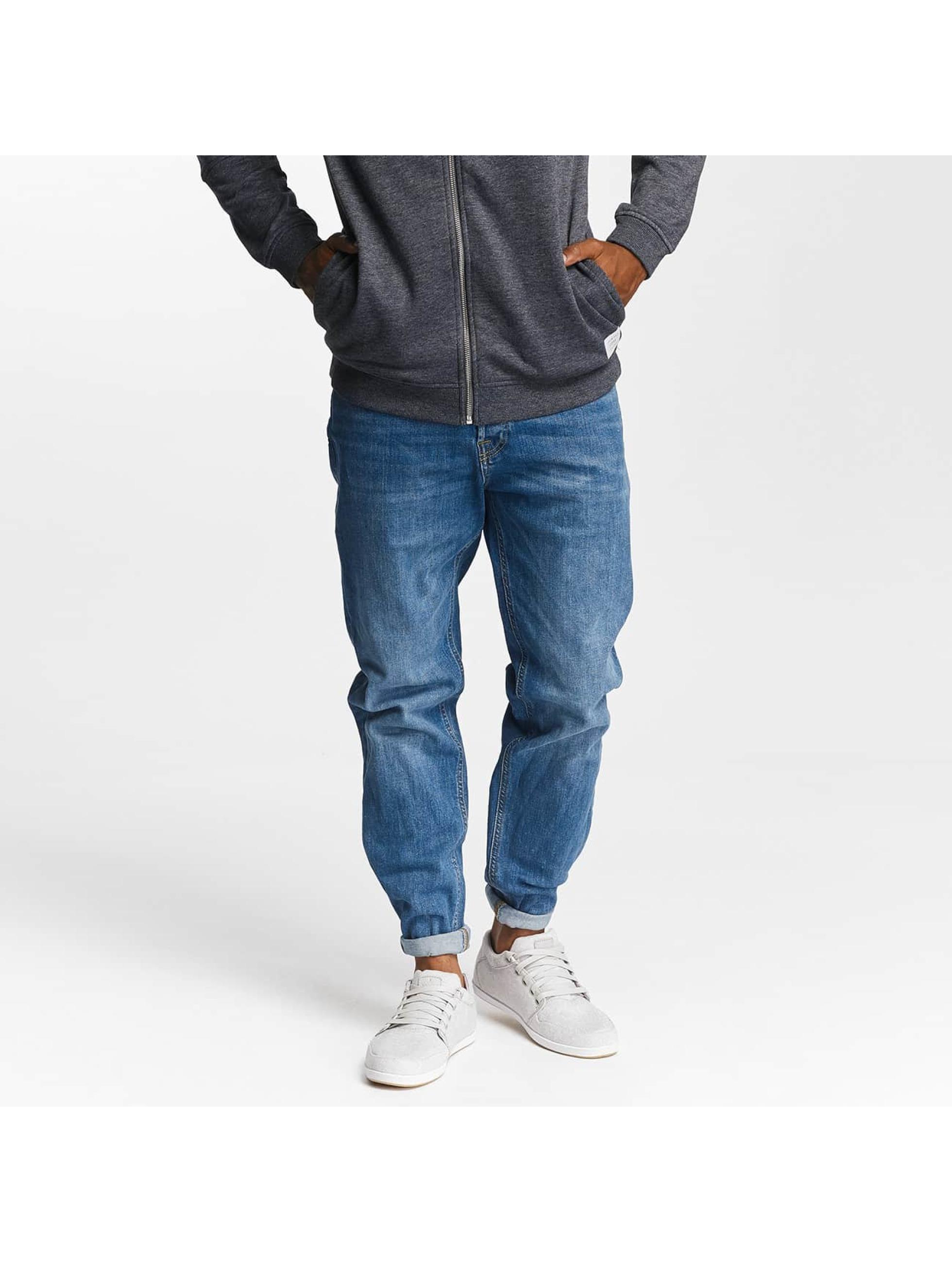 Jack & Jones Männer Straight Fit Jeans jjiMike jjOriginal AM 420 in blau
