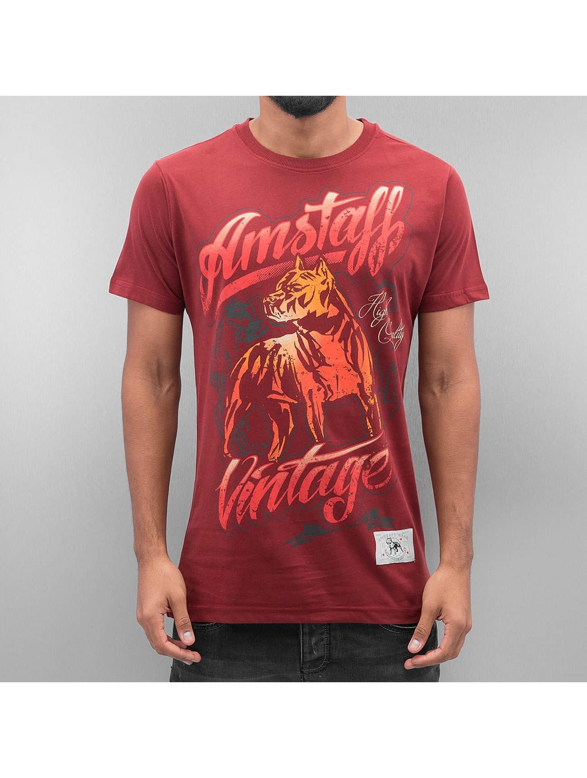 Amstaff Männer T-Shirt Agilar in rot