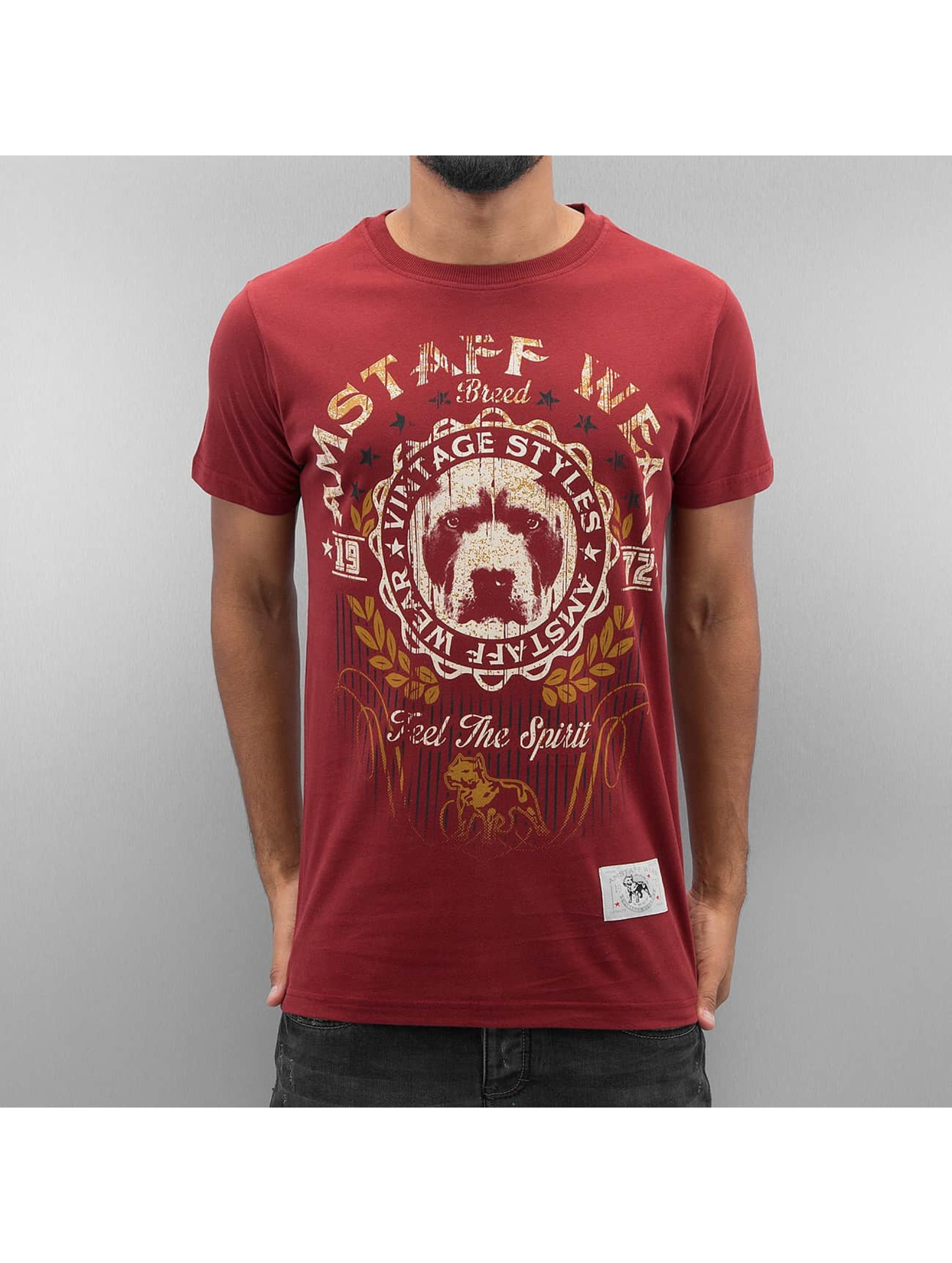 Groß Döbbern Angebote Amstaff Männer T-Shirt Malex in rot