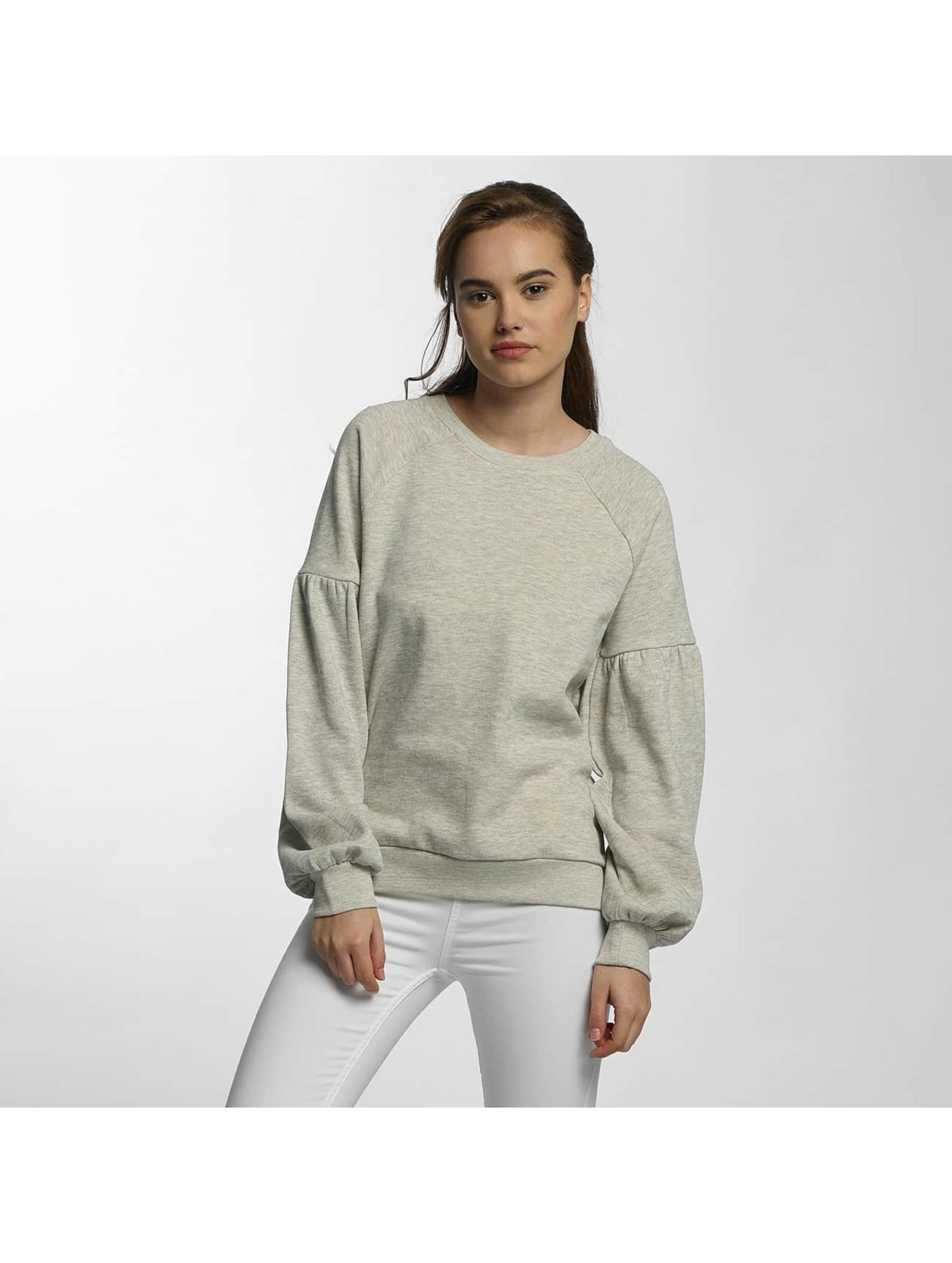Vero Moda Frauen Pullover vmPuffy in grau