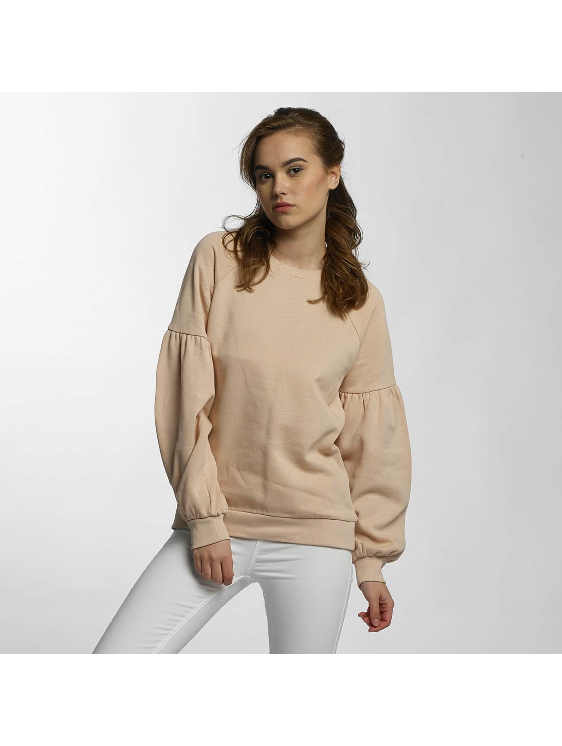 Vero Moda Frauen Pullover vmPuffy in beige Sale Angebote Döbern