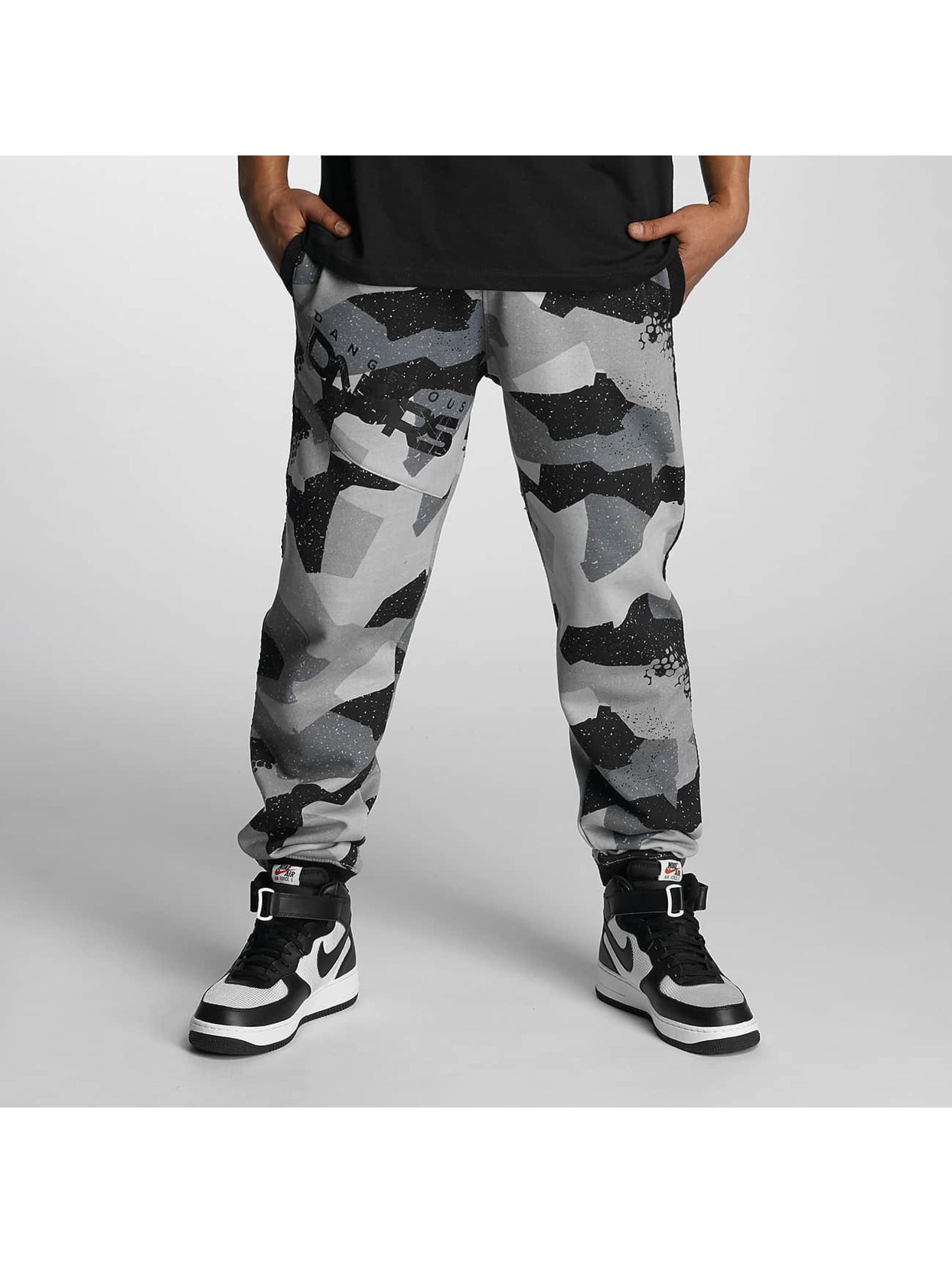 Dangerous DNGRS / Sweat Pant Sergeant in camouflage S