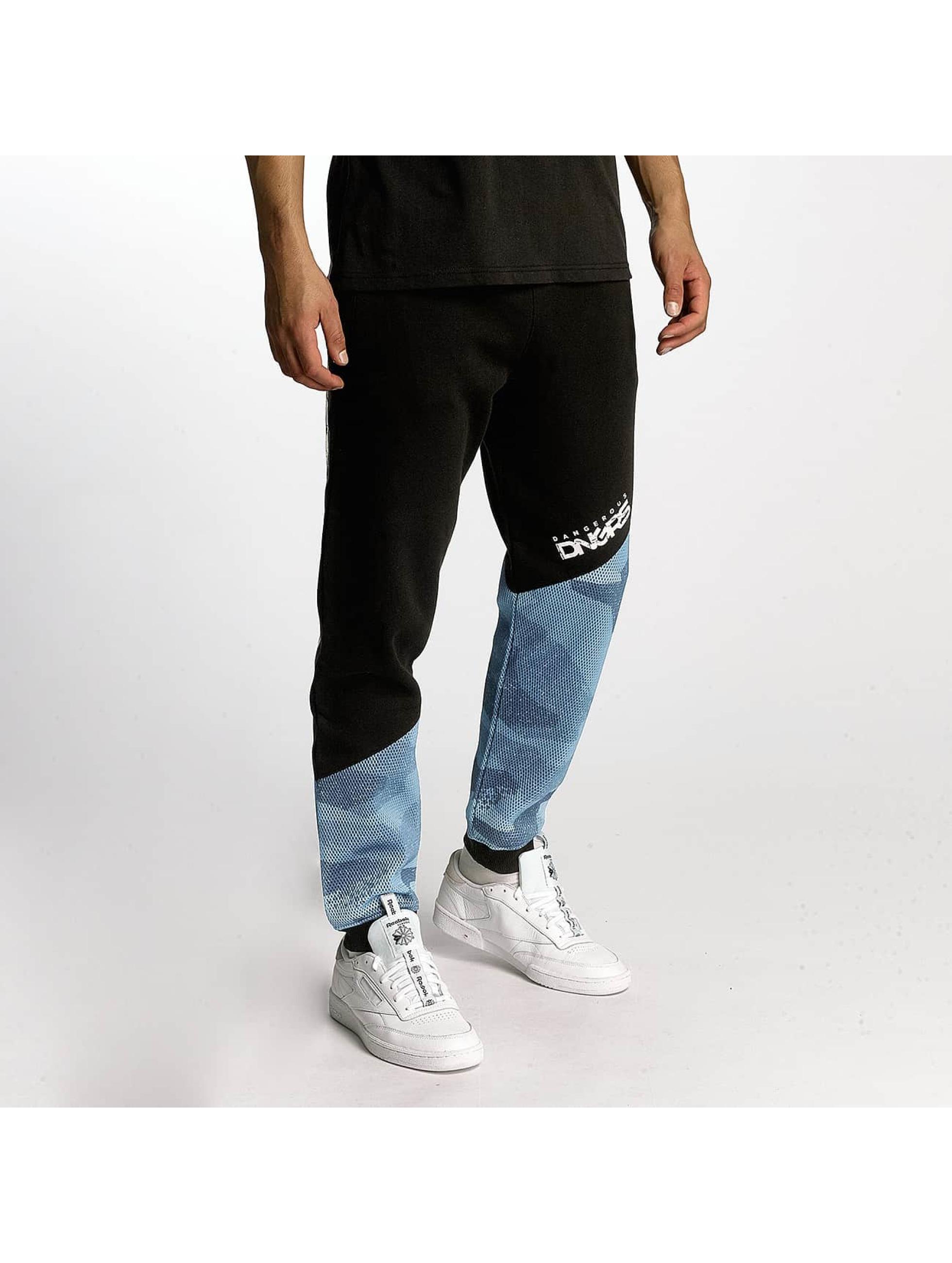 Dangerous DNGRS / Sweat Pant Breath in black M