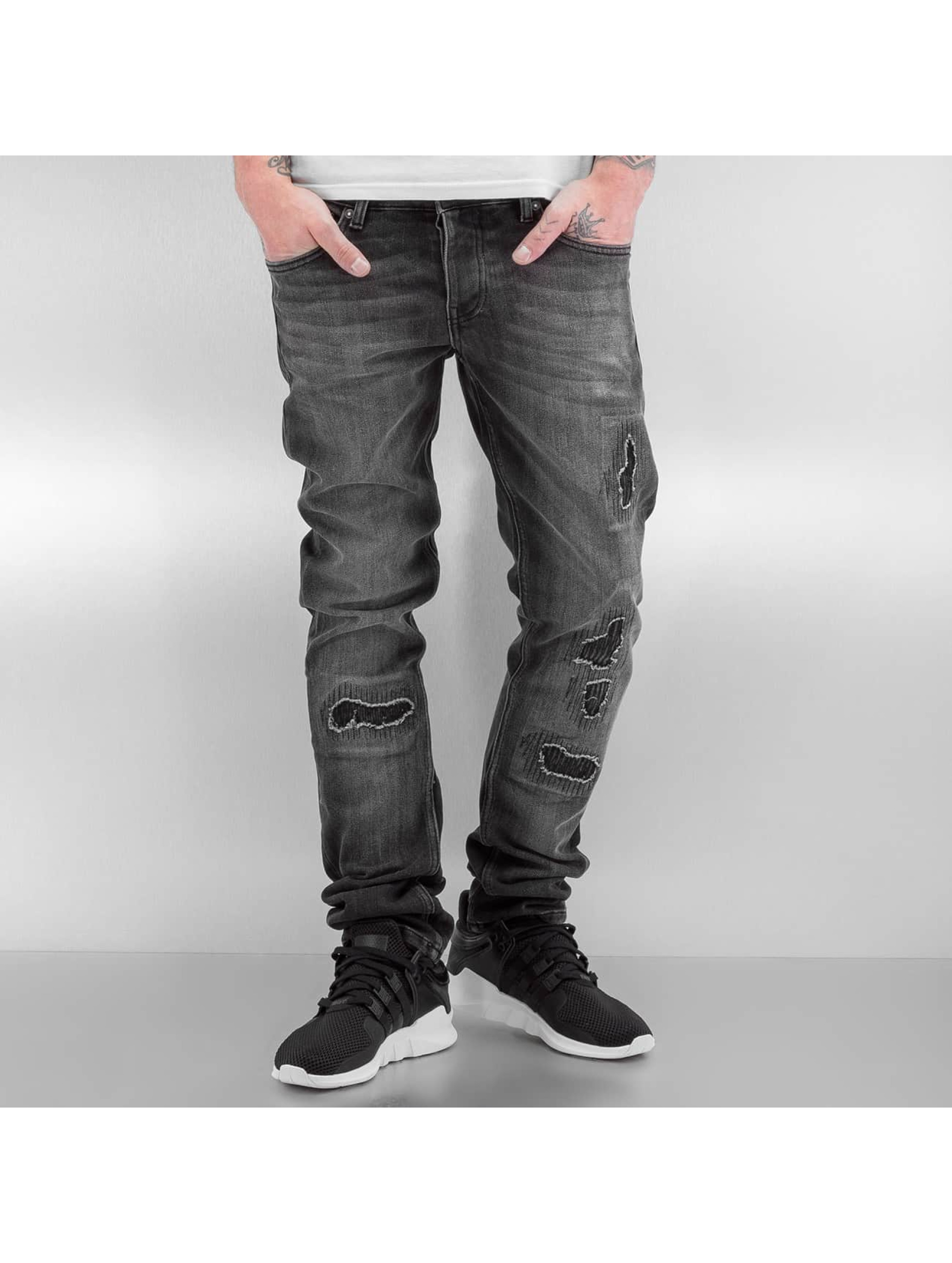 2Y Männer Slim Fit Jeans Ixelles in grau